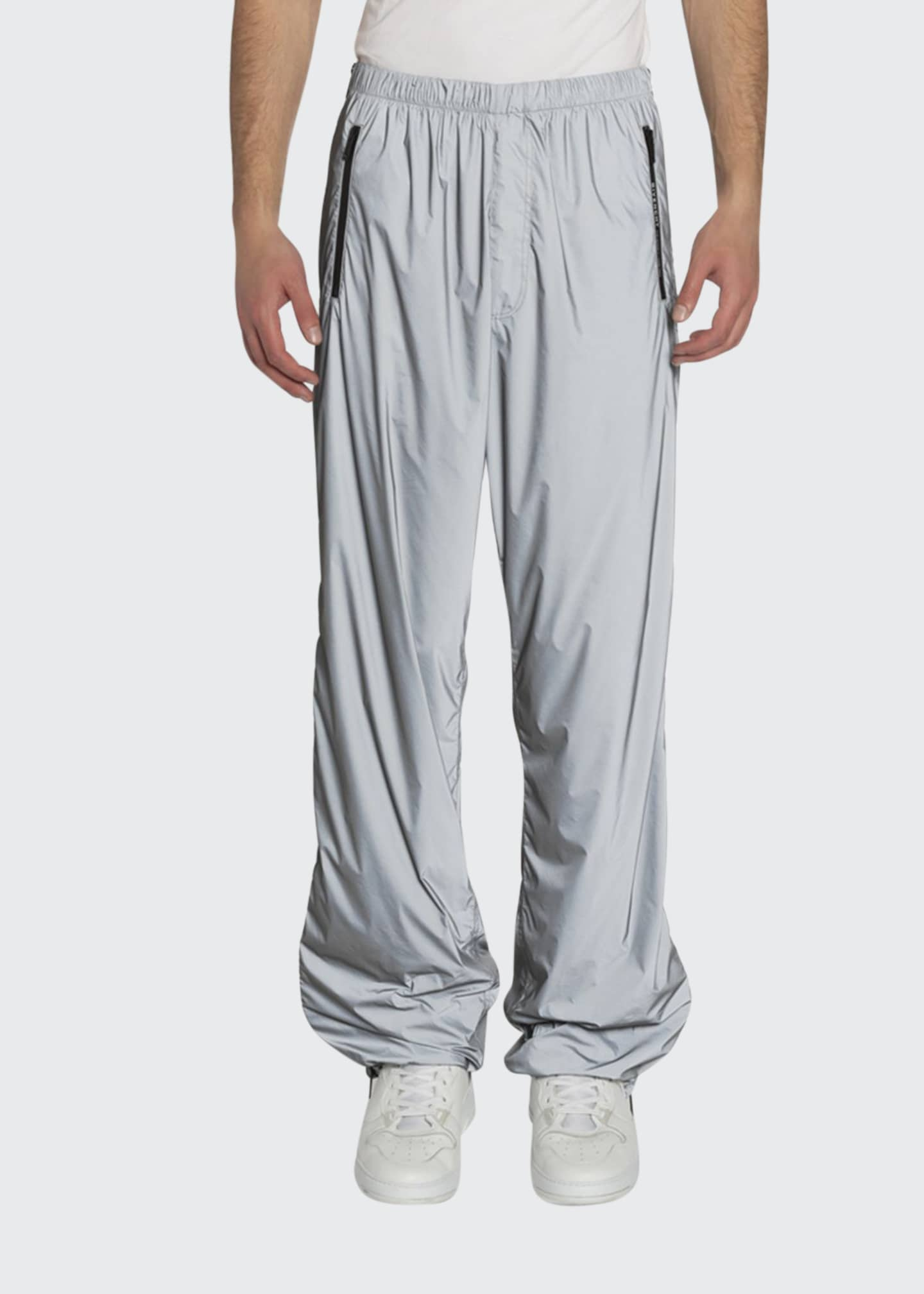 Image 1 of 2: Men's Printed Technical Nylon Jogger Pants