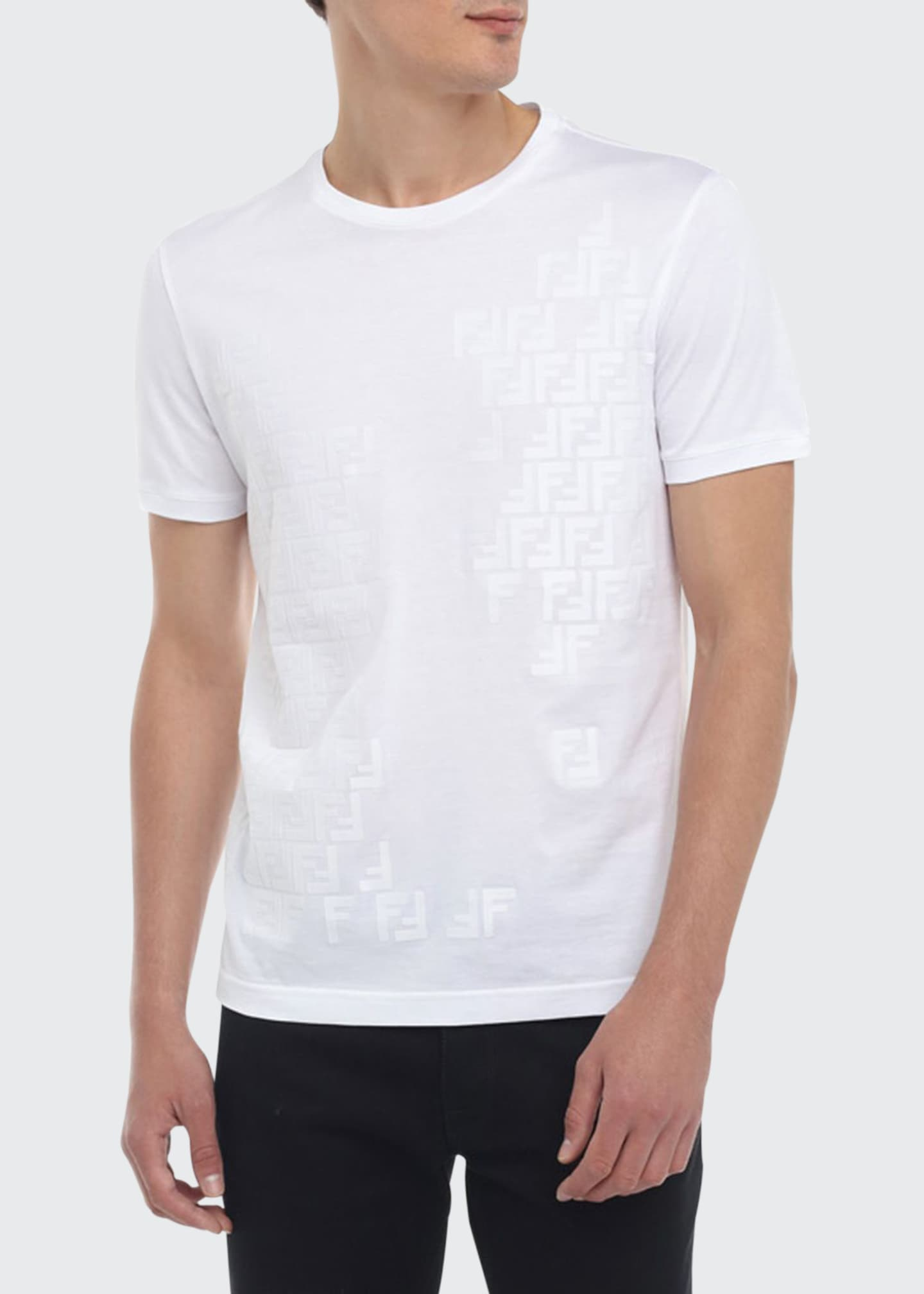 Men's Faded-FF Tonal T-Shirt