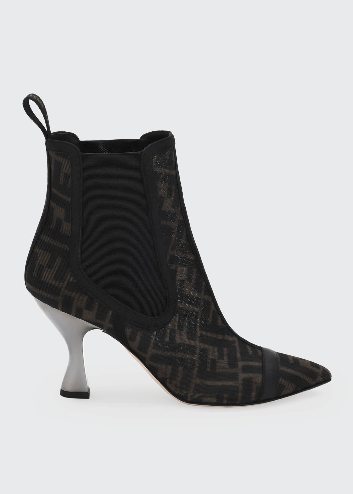 Image 1 of 4: FF Mesh Gored Booties