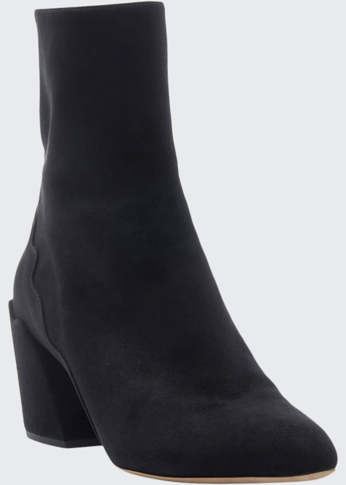 Chloe Laurena Ankle Suede Booties