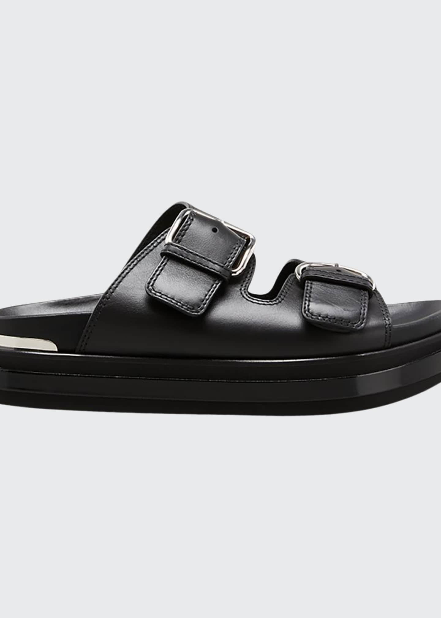 Alexander McQueen Double Buckle Sandals