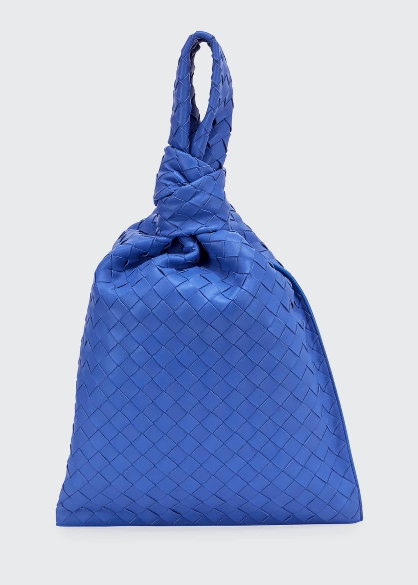 Bottega Veneta Jodi Twist Intrecciato Wristlet Clutch Bag