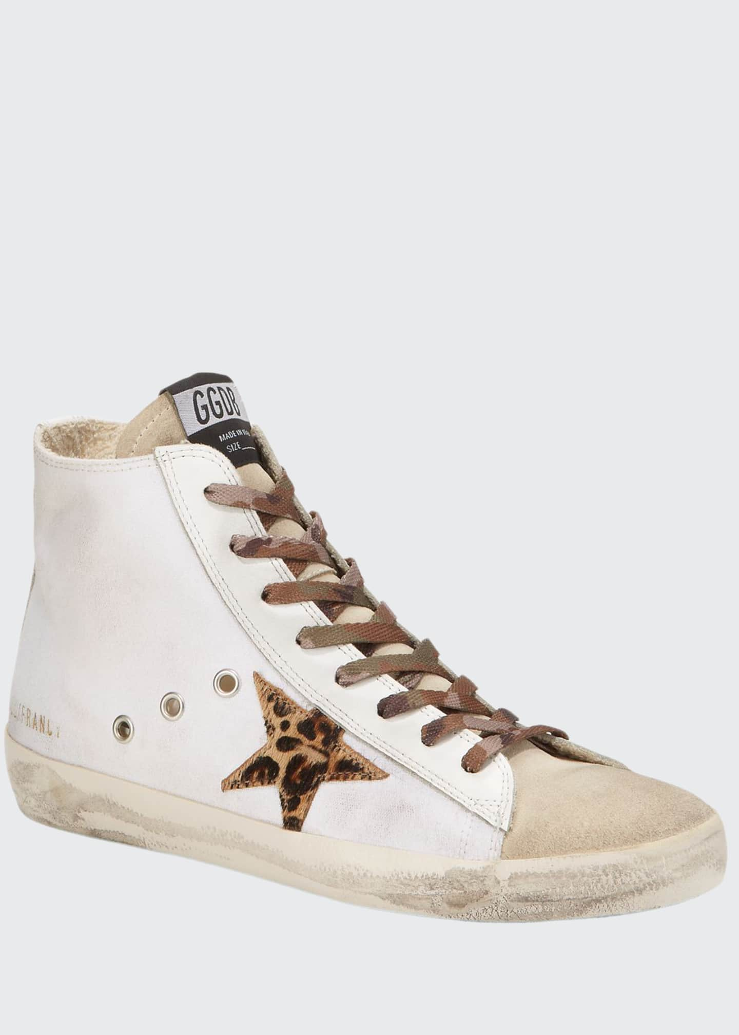 Golden Goose Francy Animalier Star Sneakers