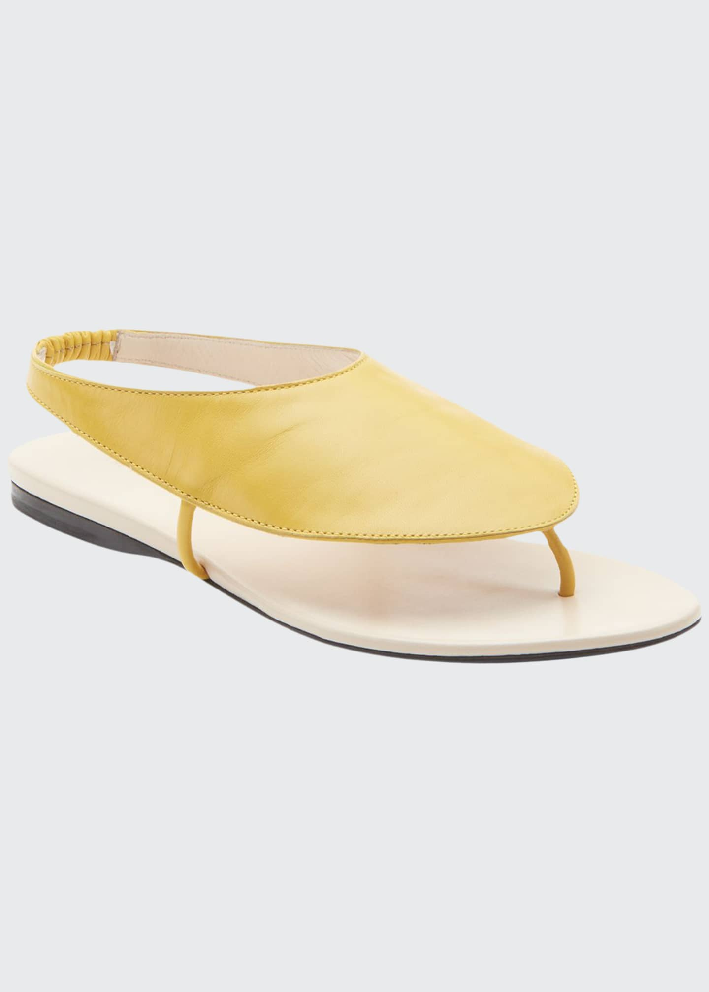 Image 1 of 3: Ravello Leather Stretch Sandals