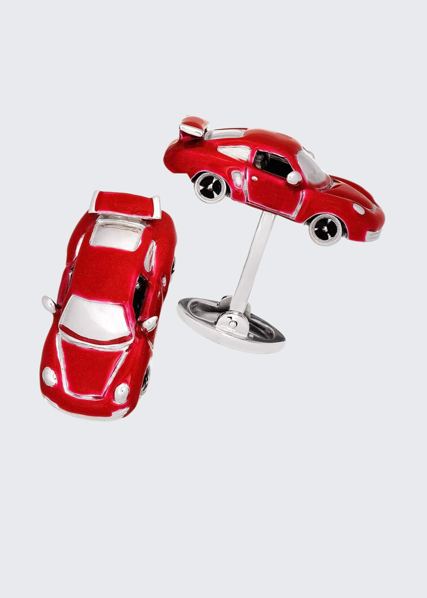 Fast Race Car Cuff Links