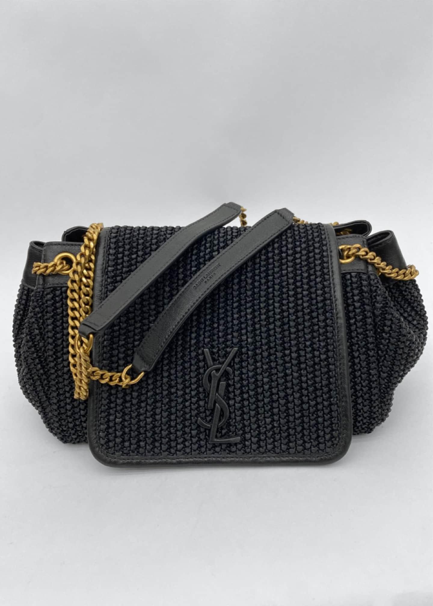 Saint Laurent Nolita Small YSL Monogram Shoulder Bag