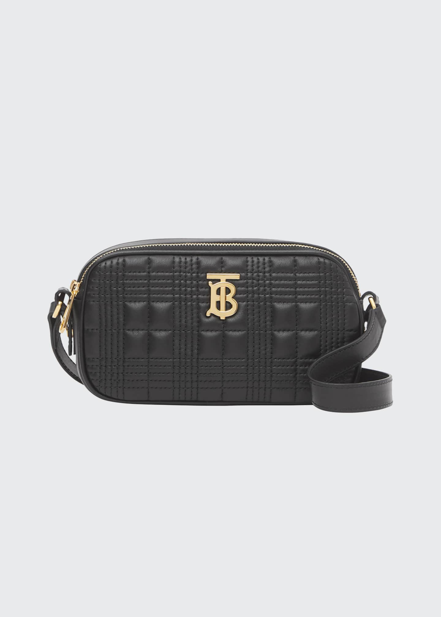 Burberry Micro Quilted TB Crossbody Bag