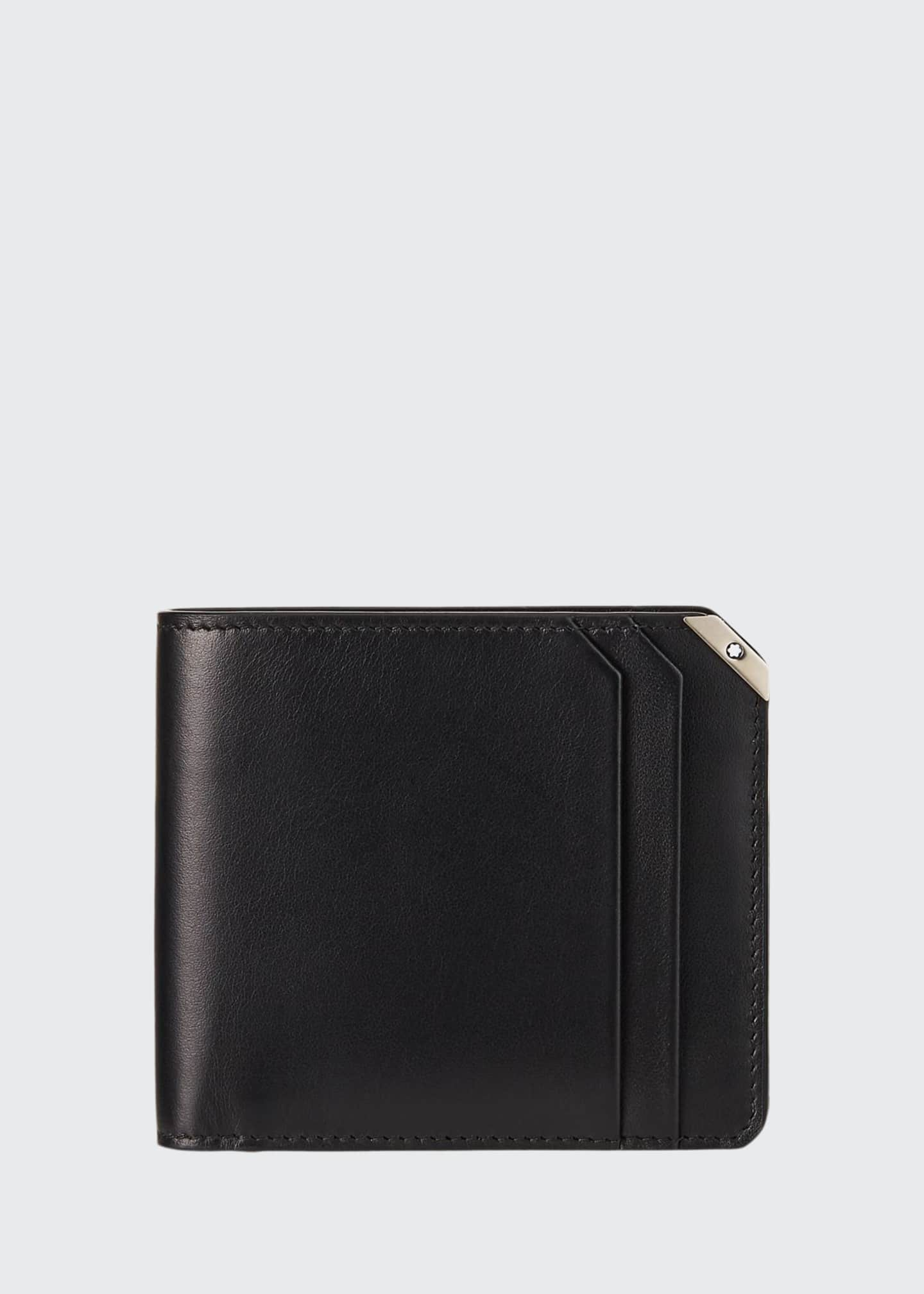 Image 1 of 2: Men's Meisterstuck Urban Full-Grain Leather Wallet