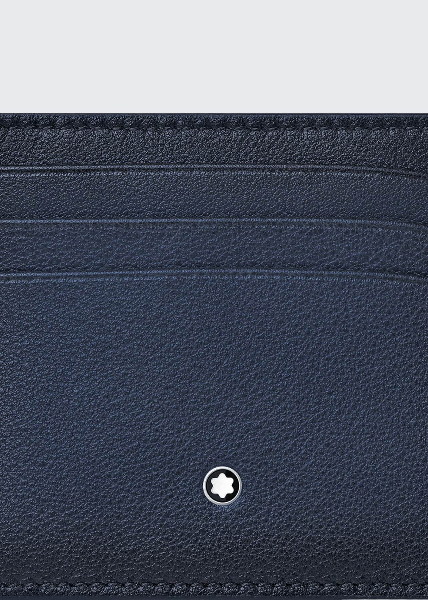 Image 1 of 2: Men's Meisterstuck Sfumato Leather Card Case