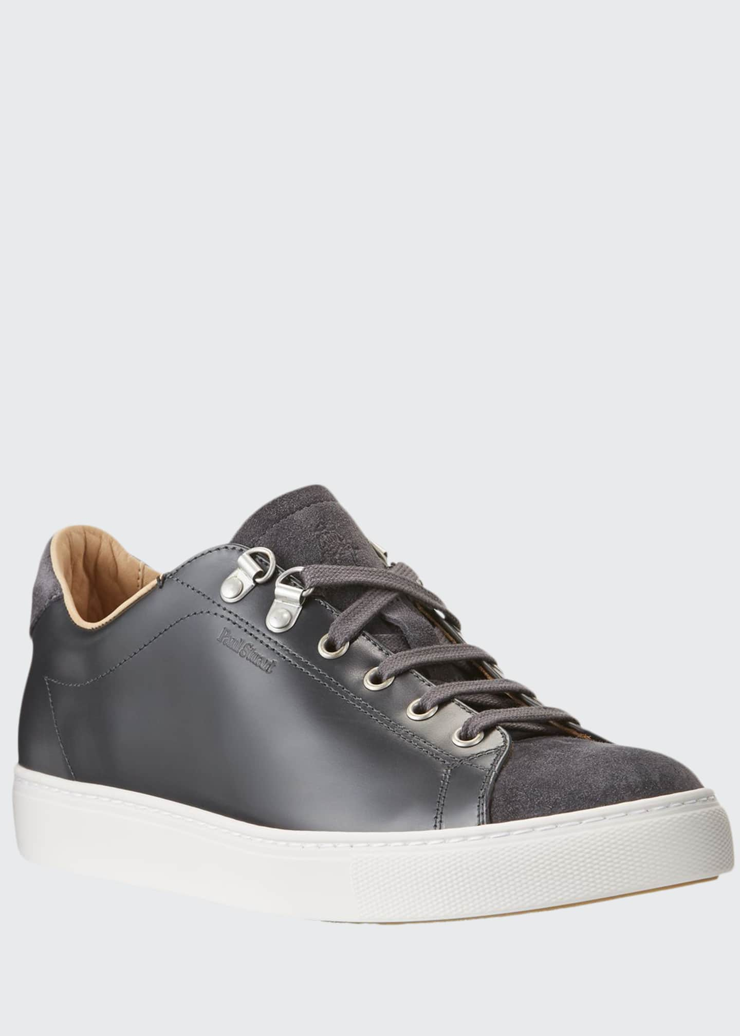 Image 1 of 5: Men's Game Suede Low-Top Sneakers