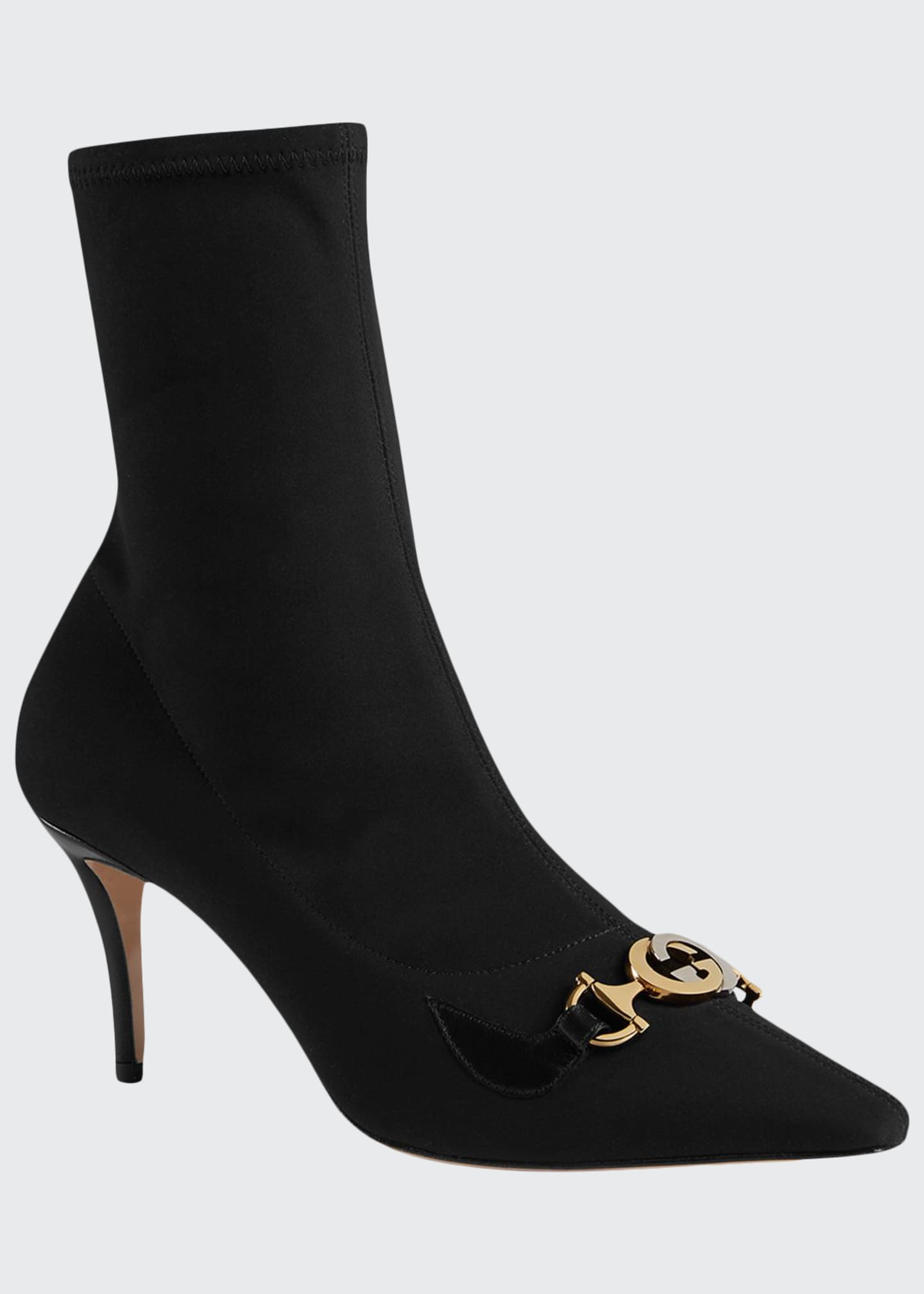 Gucci Zumi 75mm Stretch Booties
