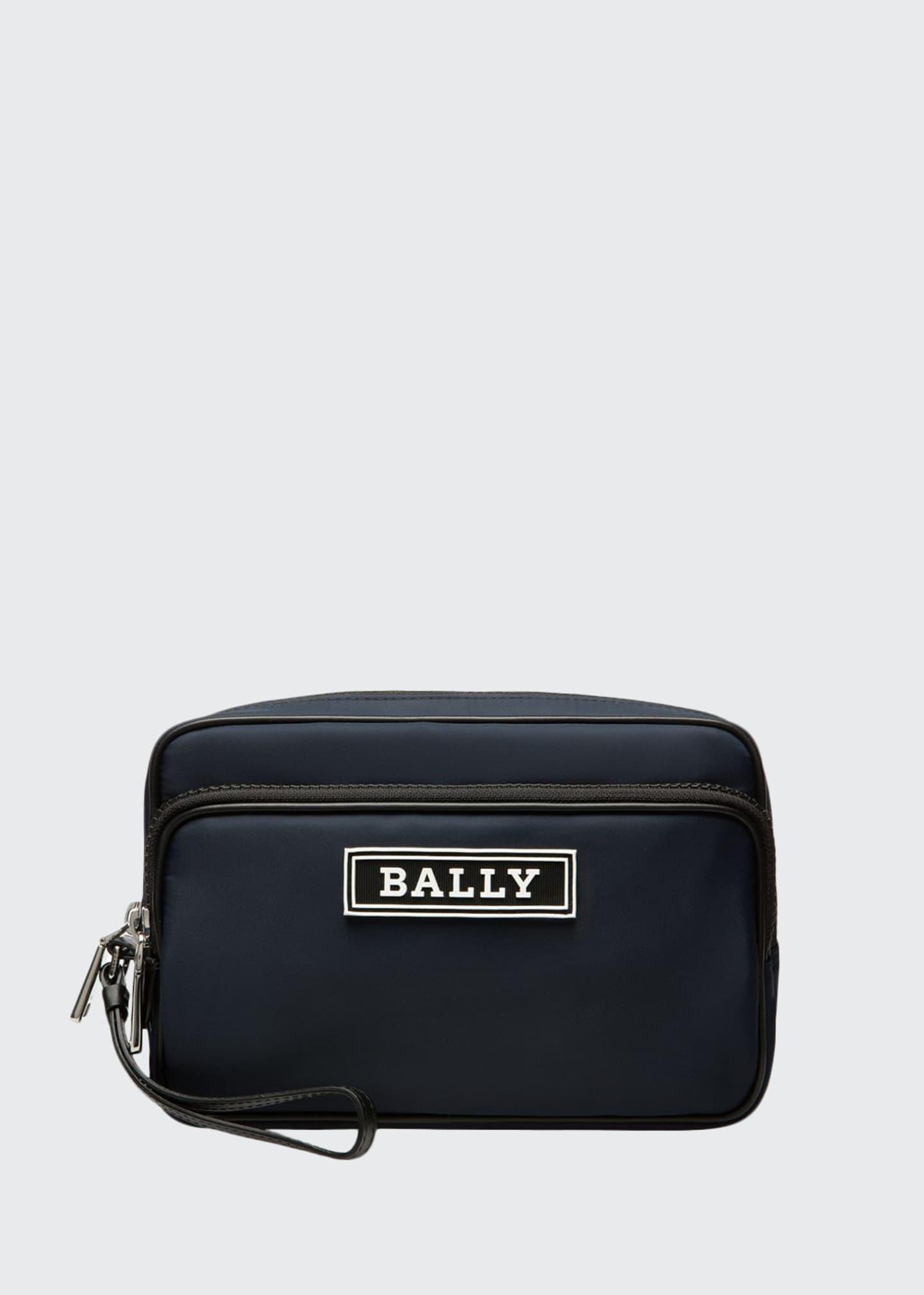 Bally Men's Enton Nylon Clutch Bag