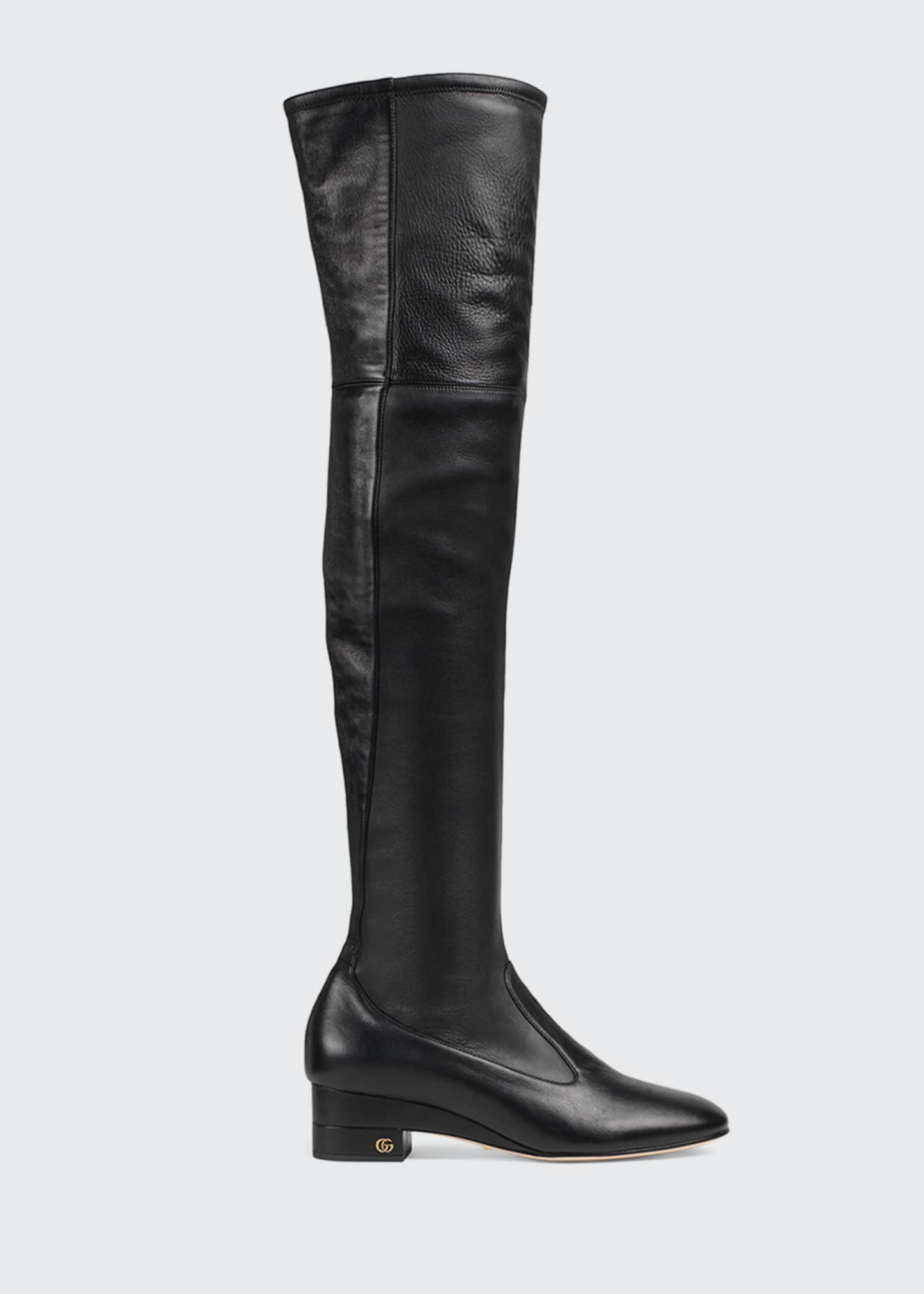 Gucci Claus 45mm Over-the-Knee Boots