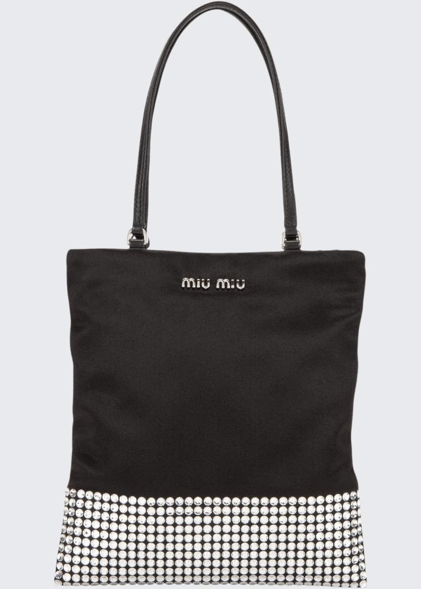 Miu Miu Raso Starlight Mini Tote Bag