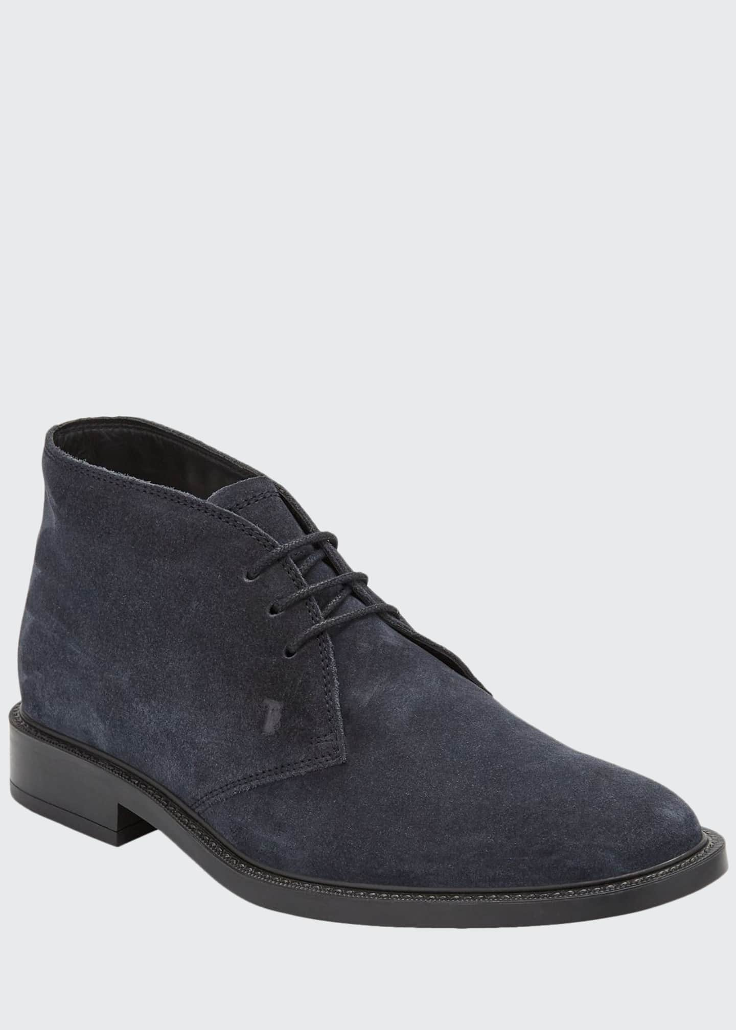 Image 1 of 3: Men's Polacco Suede Chukka Boots