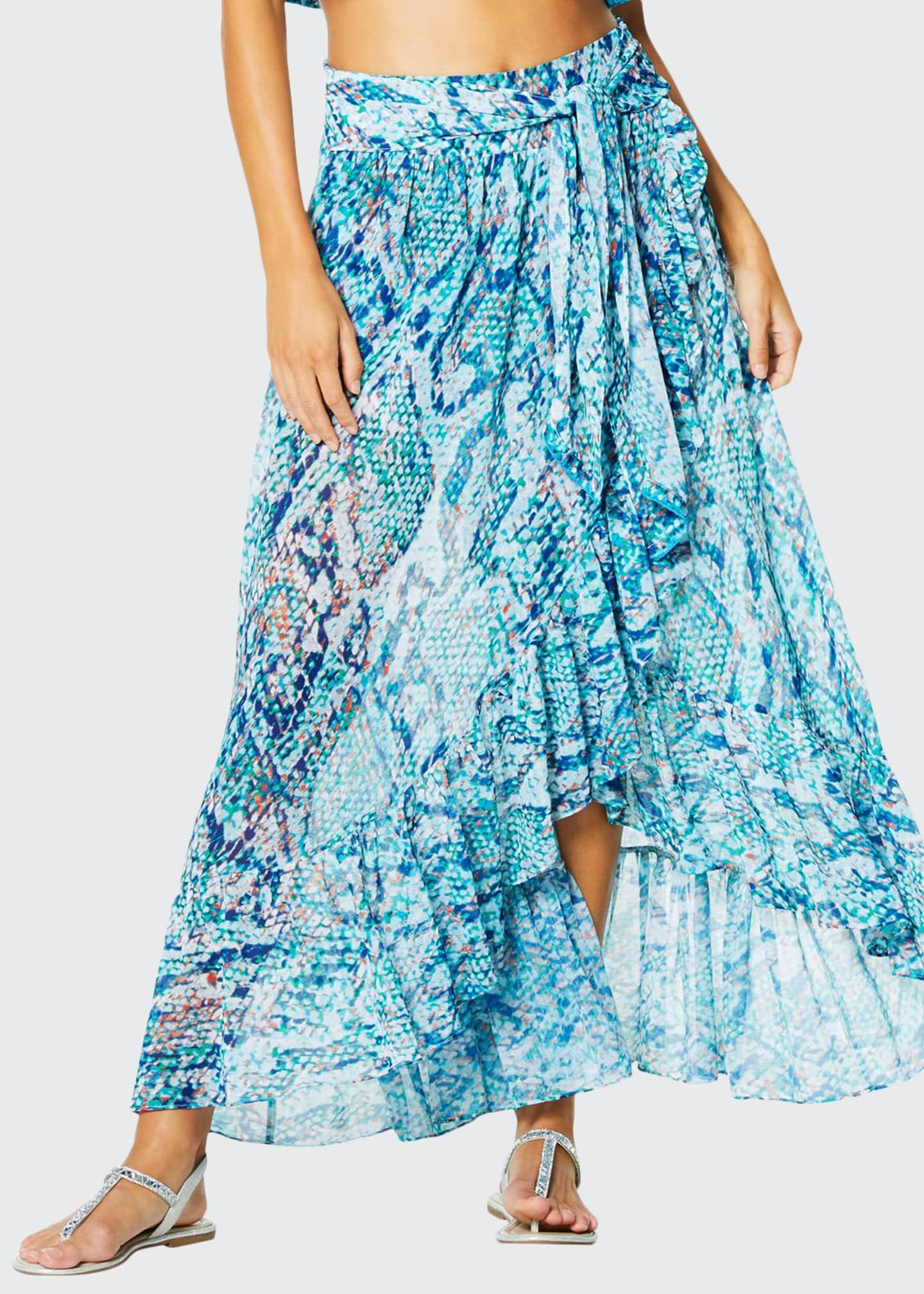 Ramy Brook Verona Printed Coverup Skirt