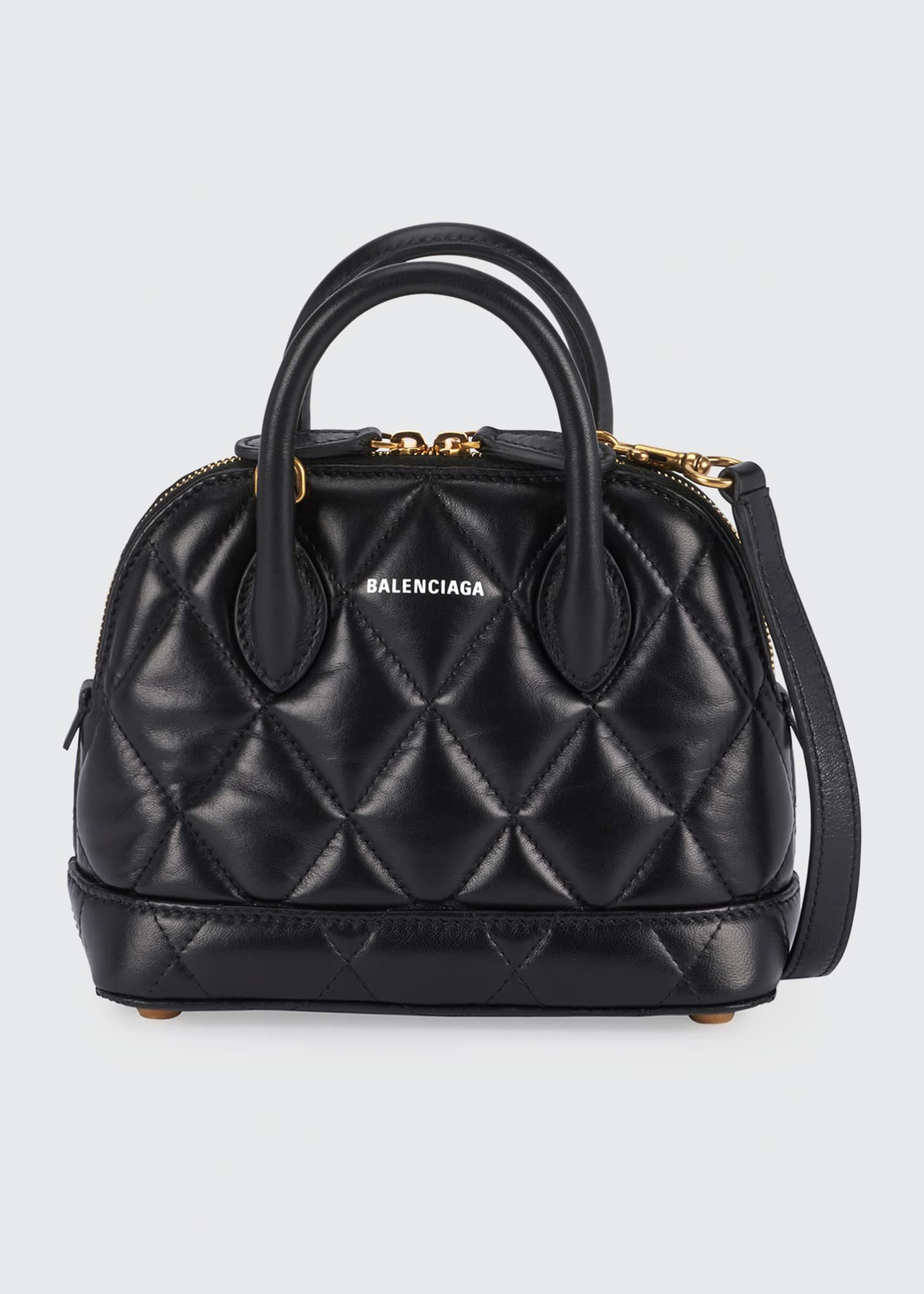 Balenciaga Ville XXS AJ Quilted Top Handle Bag