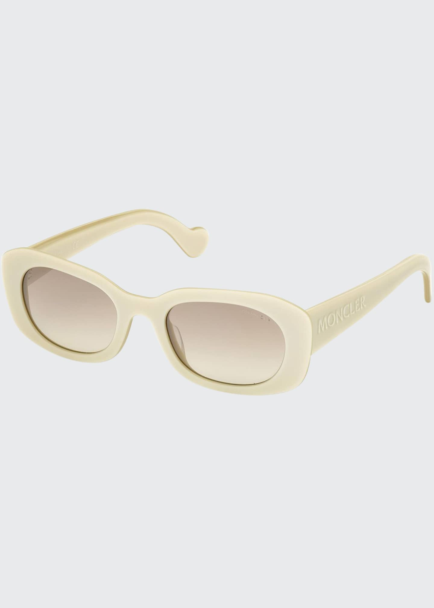 Image 1 of 1: Gradient Rectangle Sunglasses