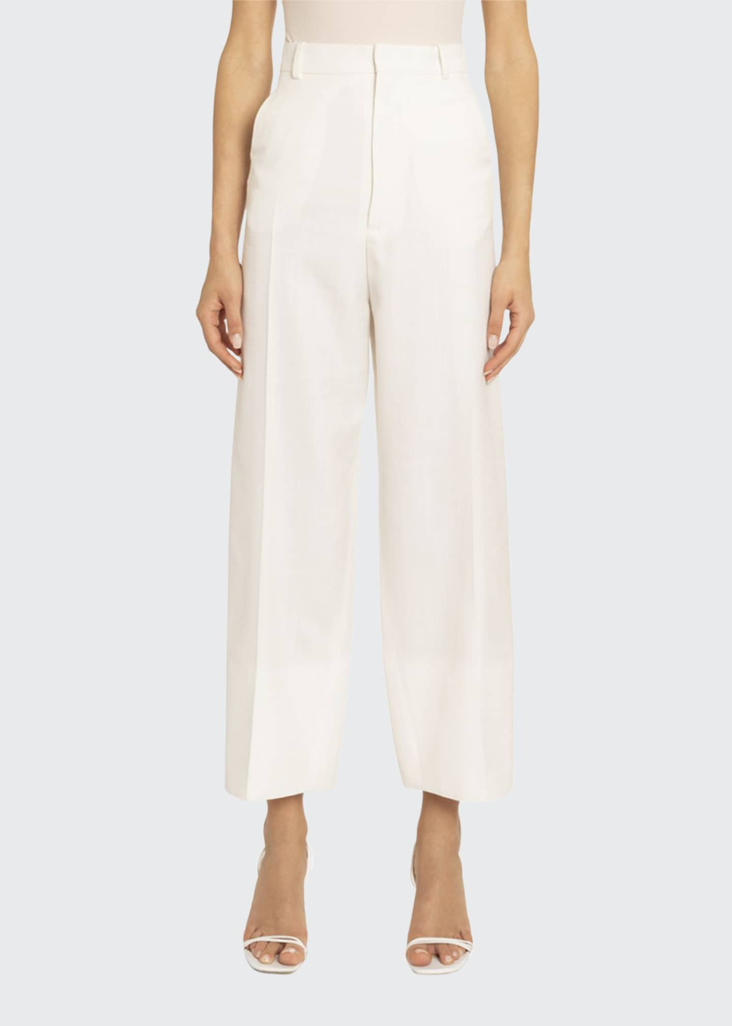 Jacquemus Wide-Leg Cropped Pants