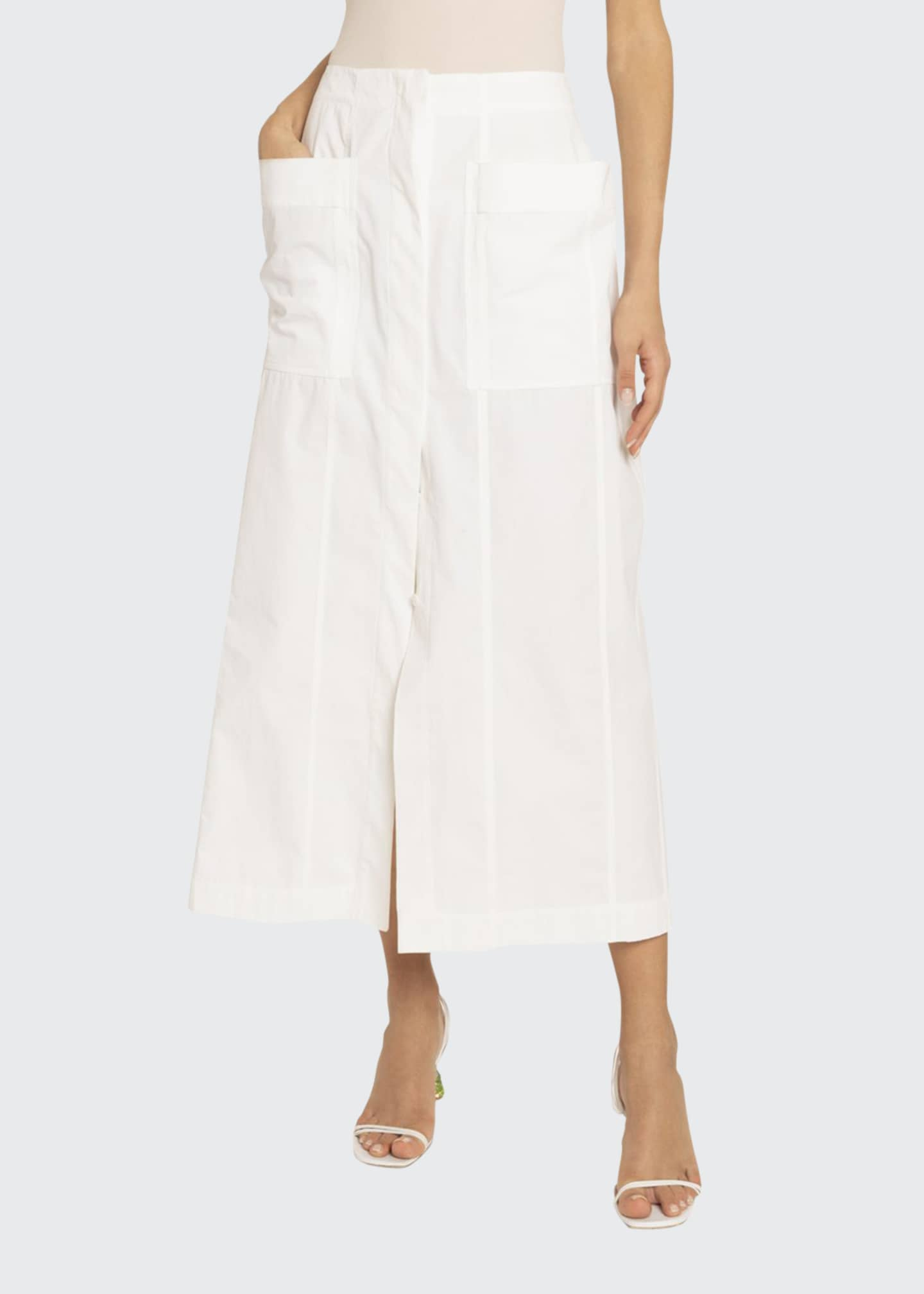 Jacquemus La Bastide Cotton Midi Dress