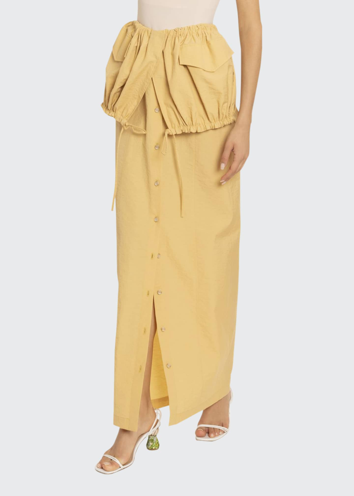 Jacquemus La Cueillette Maxi Skirt