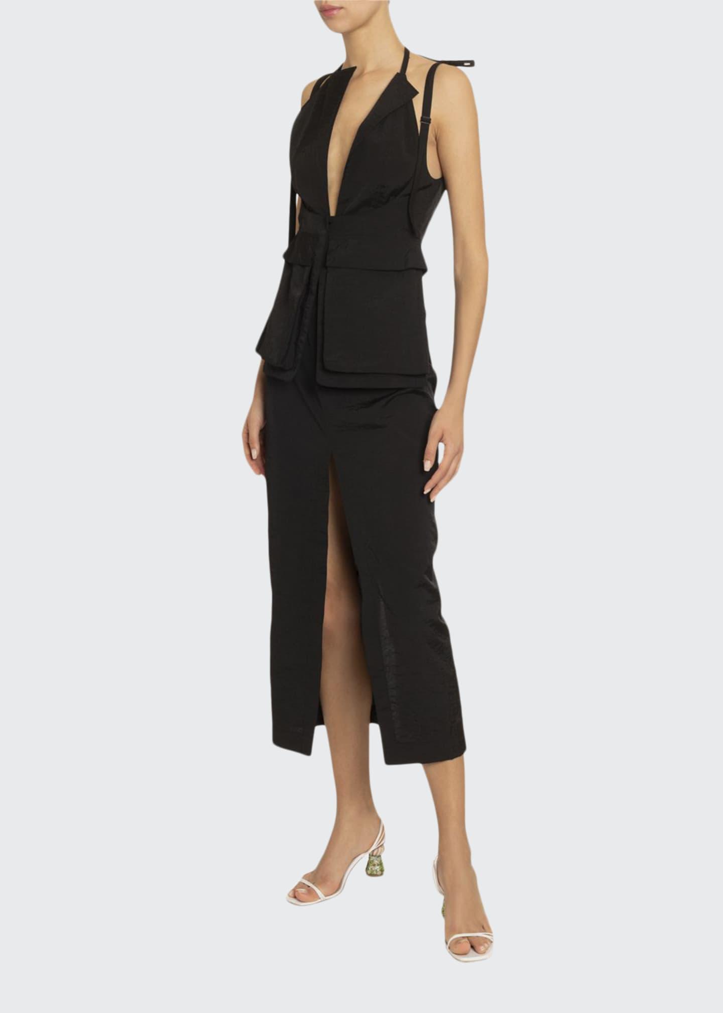 Jacquemus La Ascea Utility Pocket Dress