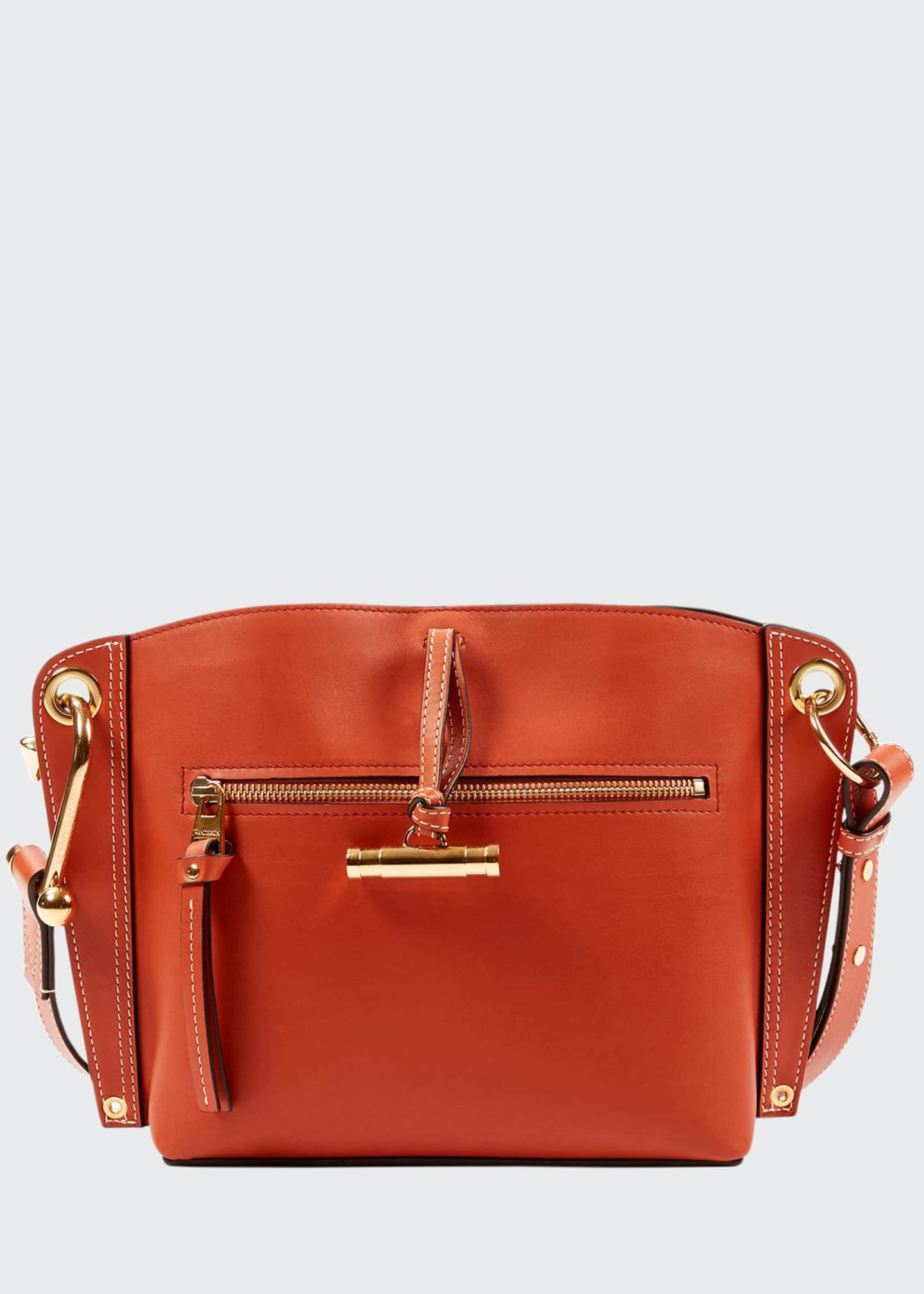 JW Anderson Small Hoist Buffed Calf Shoulder Bag
