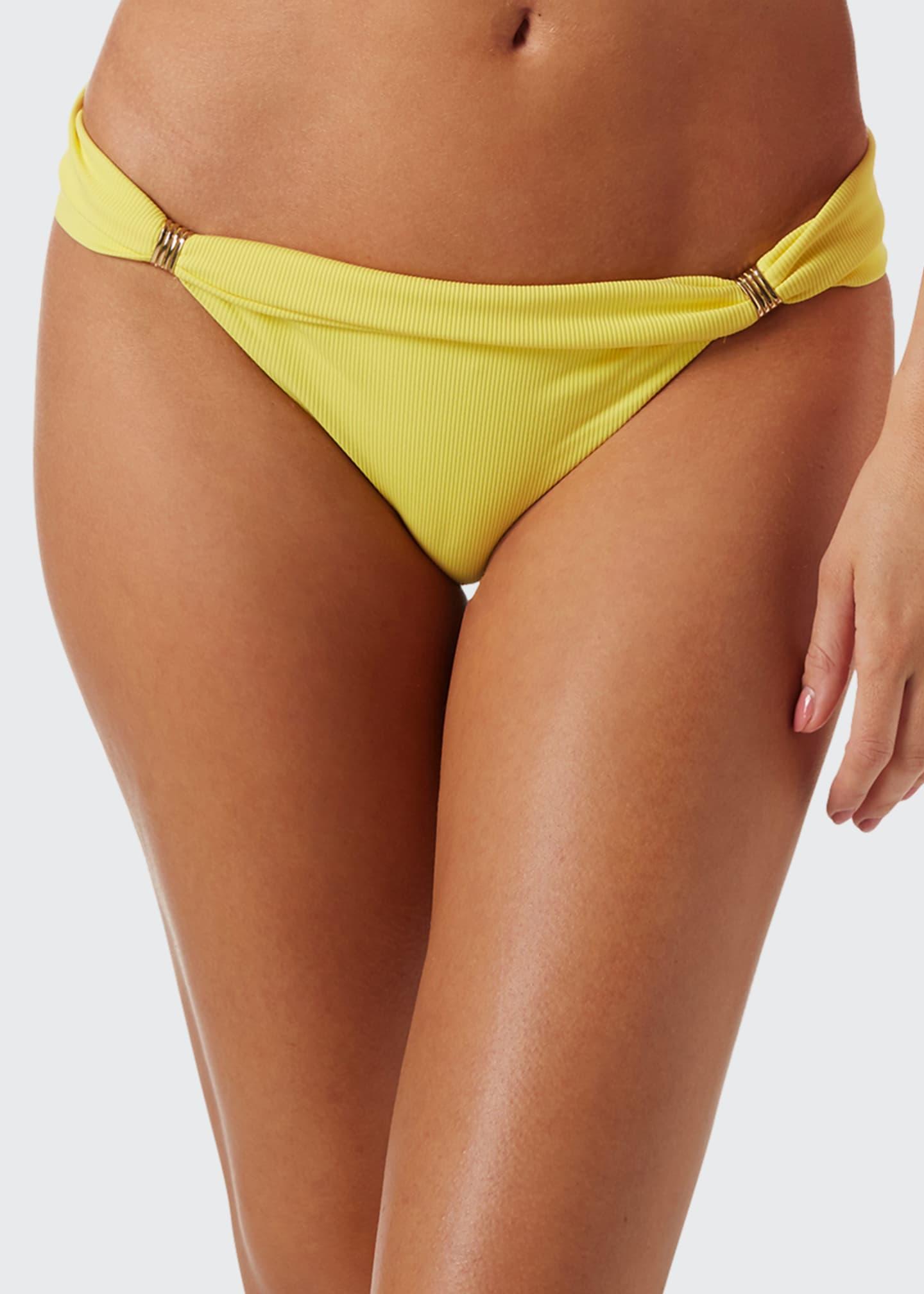 Melissa Odabash Grenada Cheetah-Print Bikini Bottom
