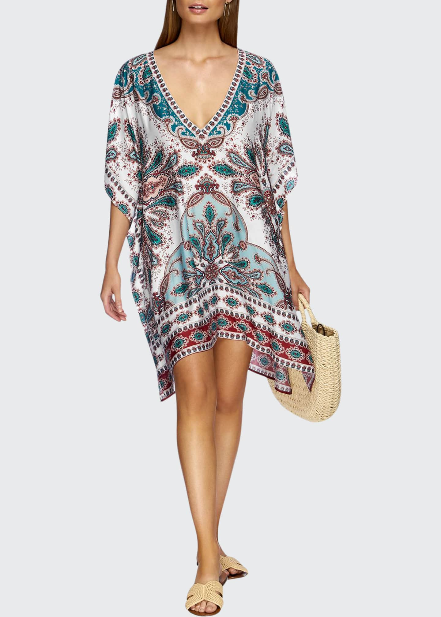 Image 1 of 3: Reverie Printed Kaftan