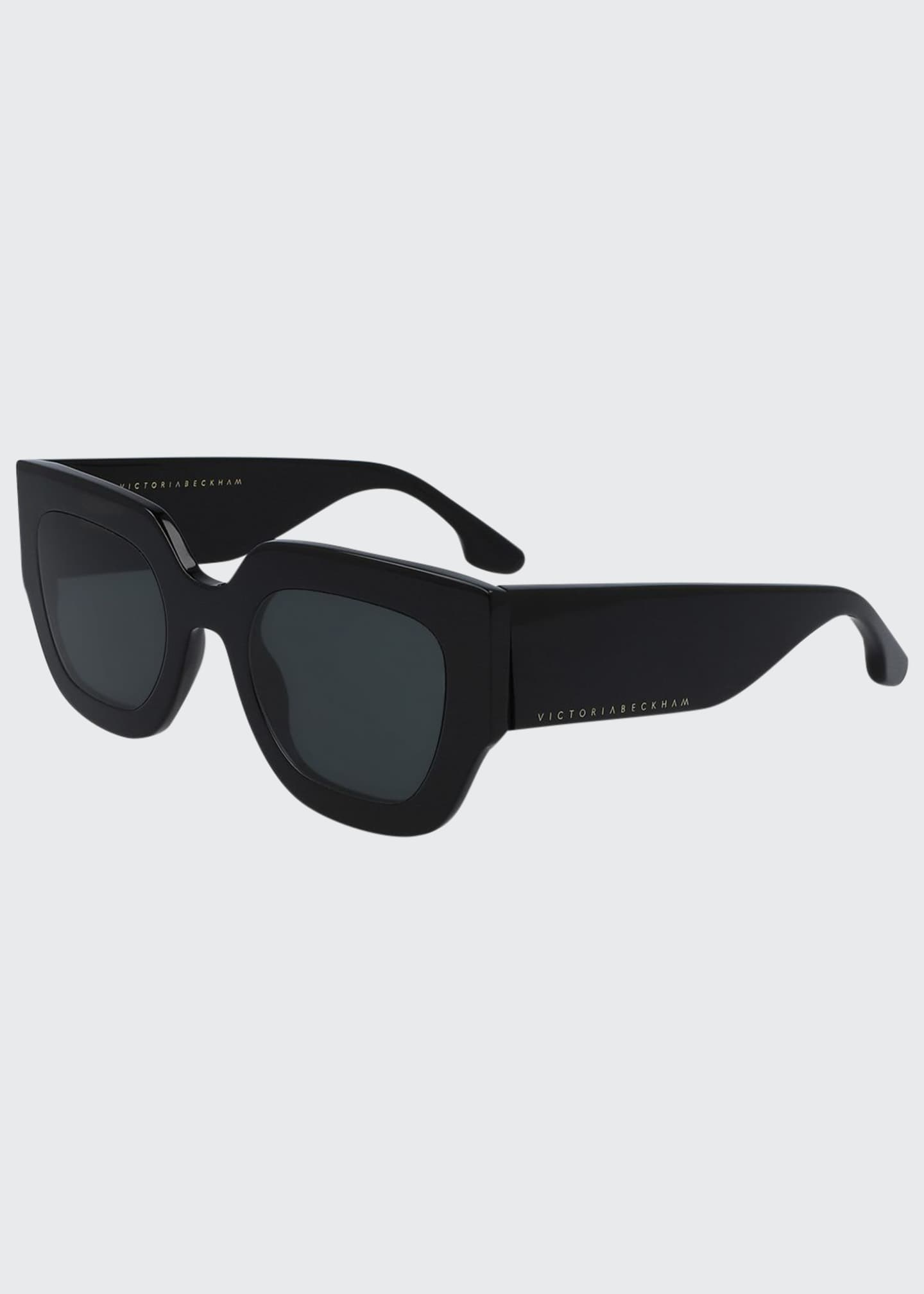 Image 1 of 1: Flat Acetate Square Sunglasses