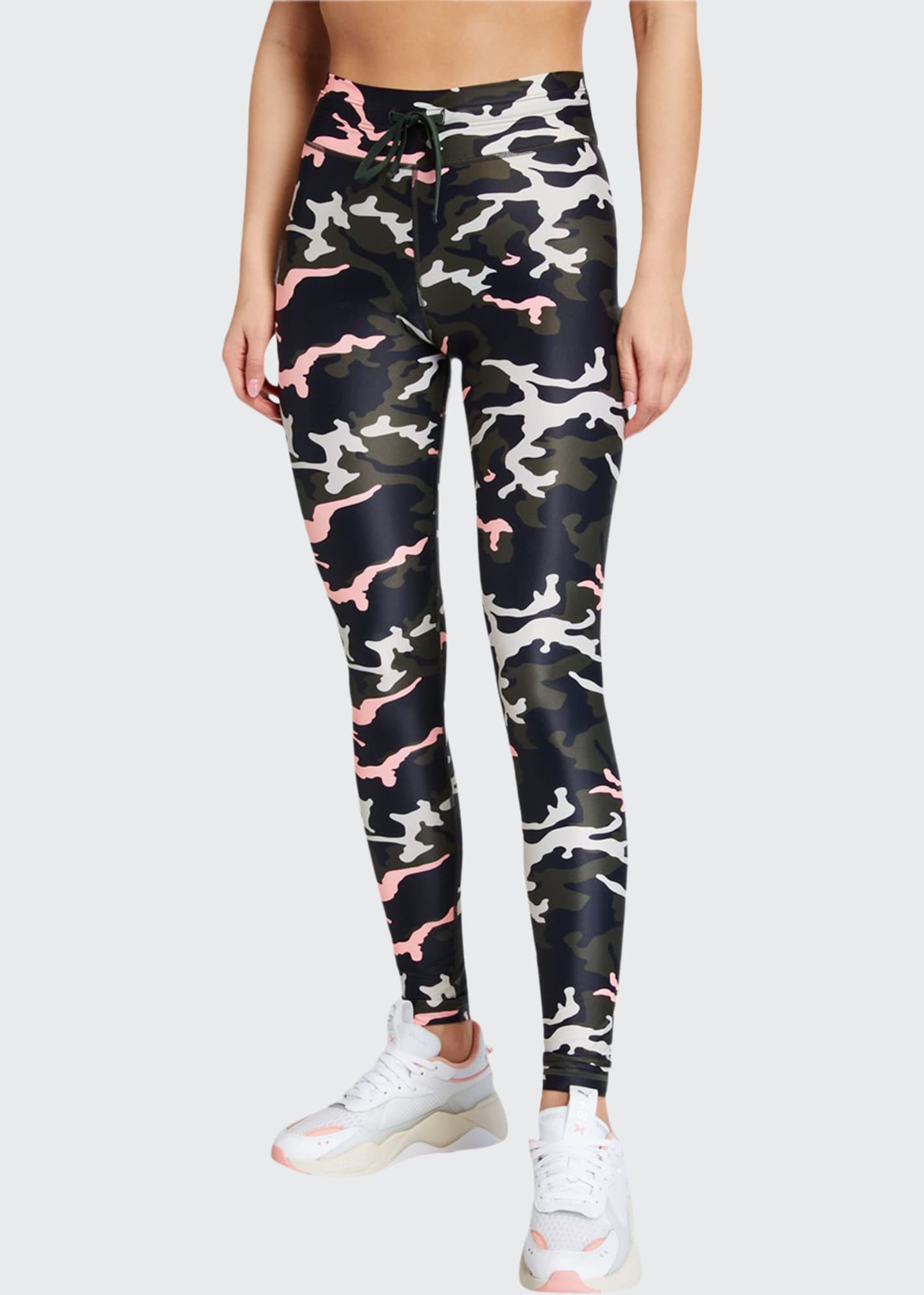 Image 1 of 3: Camo 54 Drawstring Yoga Pant