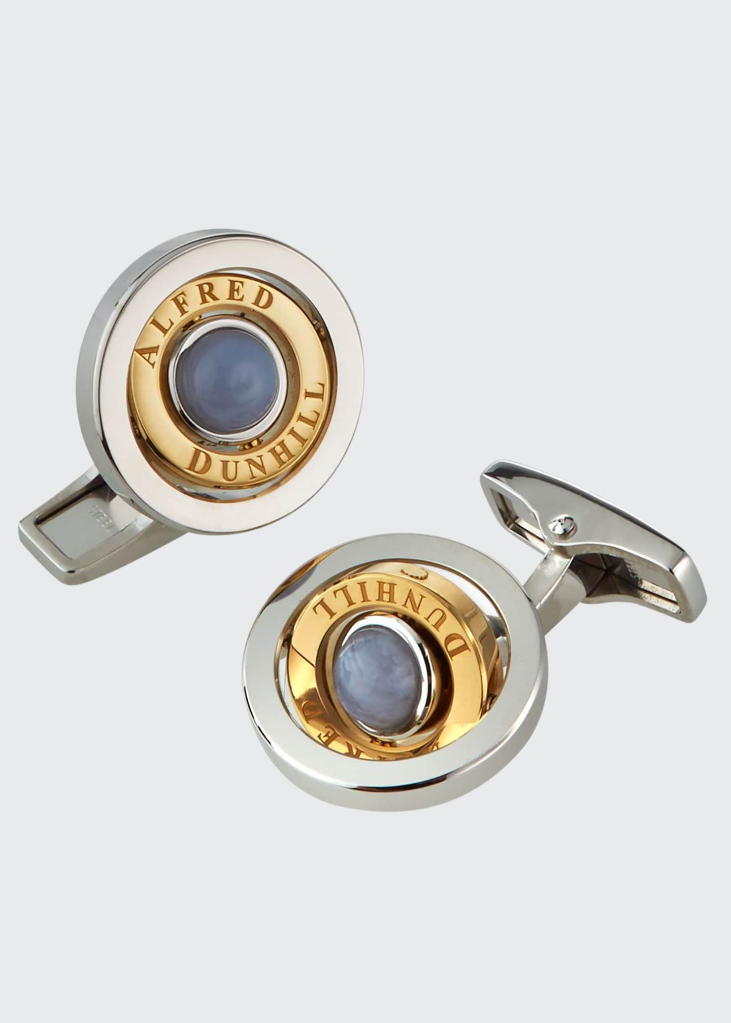 Image 1 of 2: Bicolor Radial Gyro Cufflinks