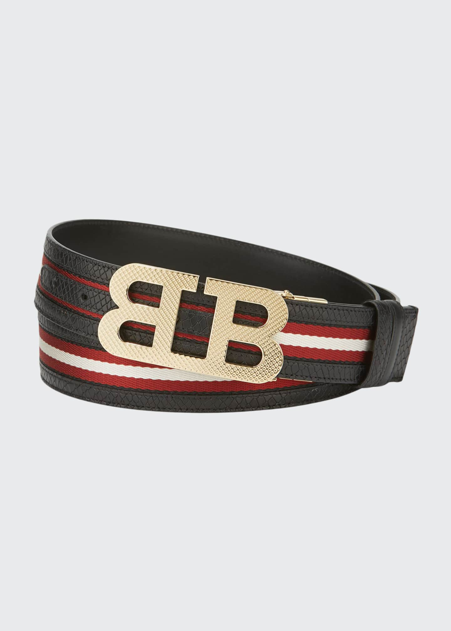 Image 1 of 1: Men's Mirror B Trainspotting Reversible Belt