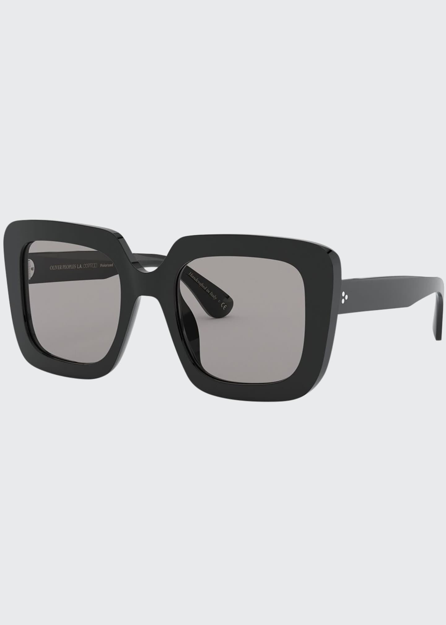 Image 1 of 2: Franca Square Acetate Sunglasses