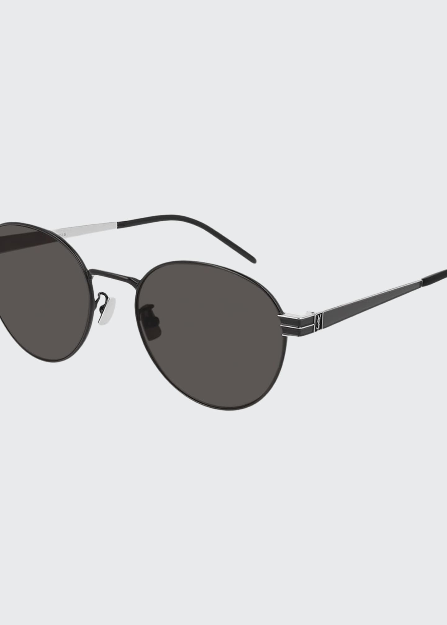 Image 1 of 1: Unisex Round Metal Sunglasses