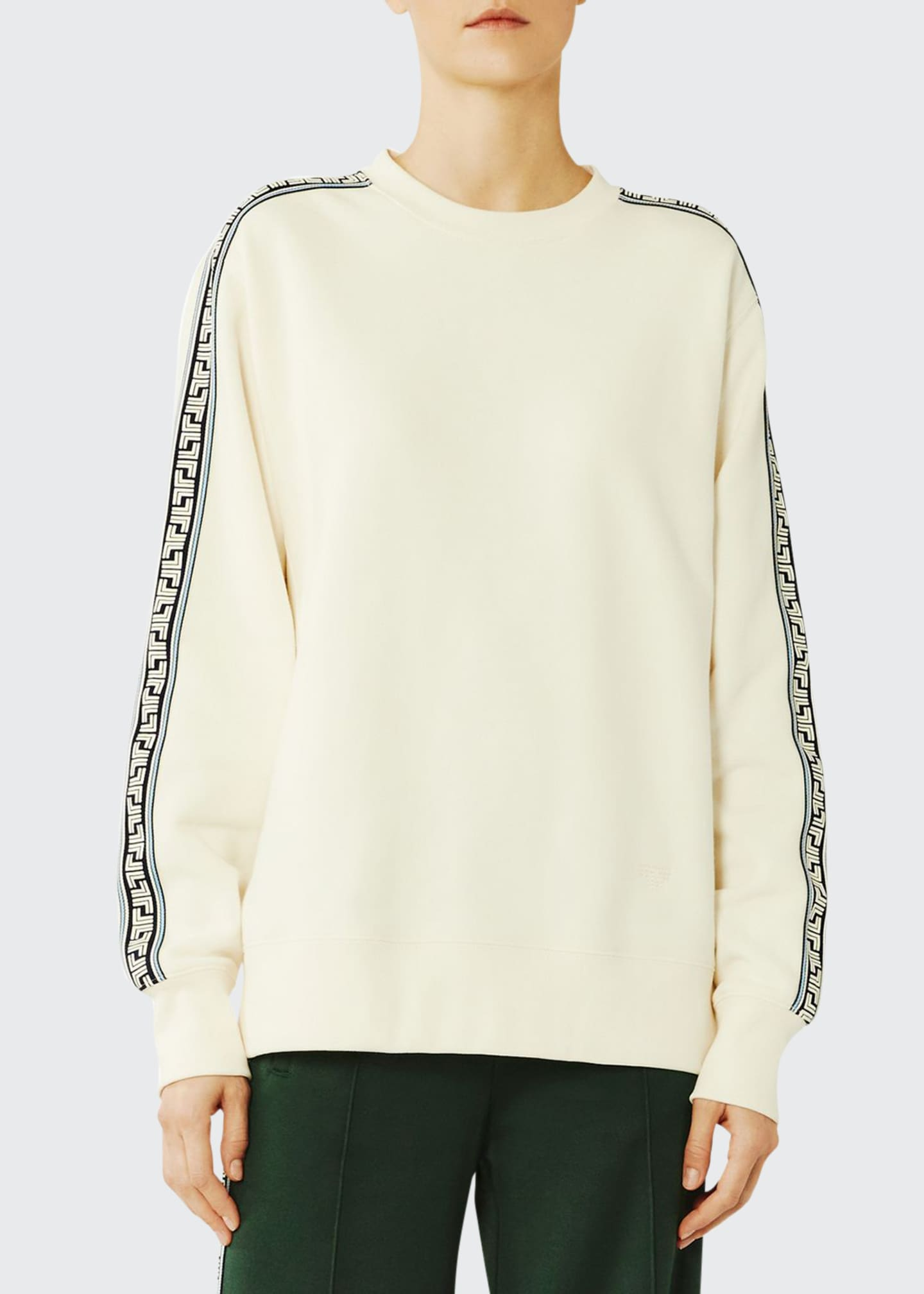 Image 1 of 4: French Terry Geo T Sweatshirt