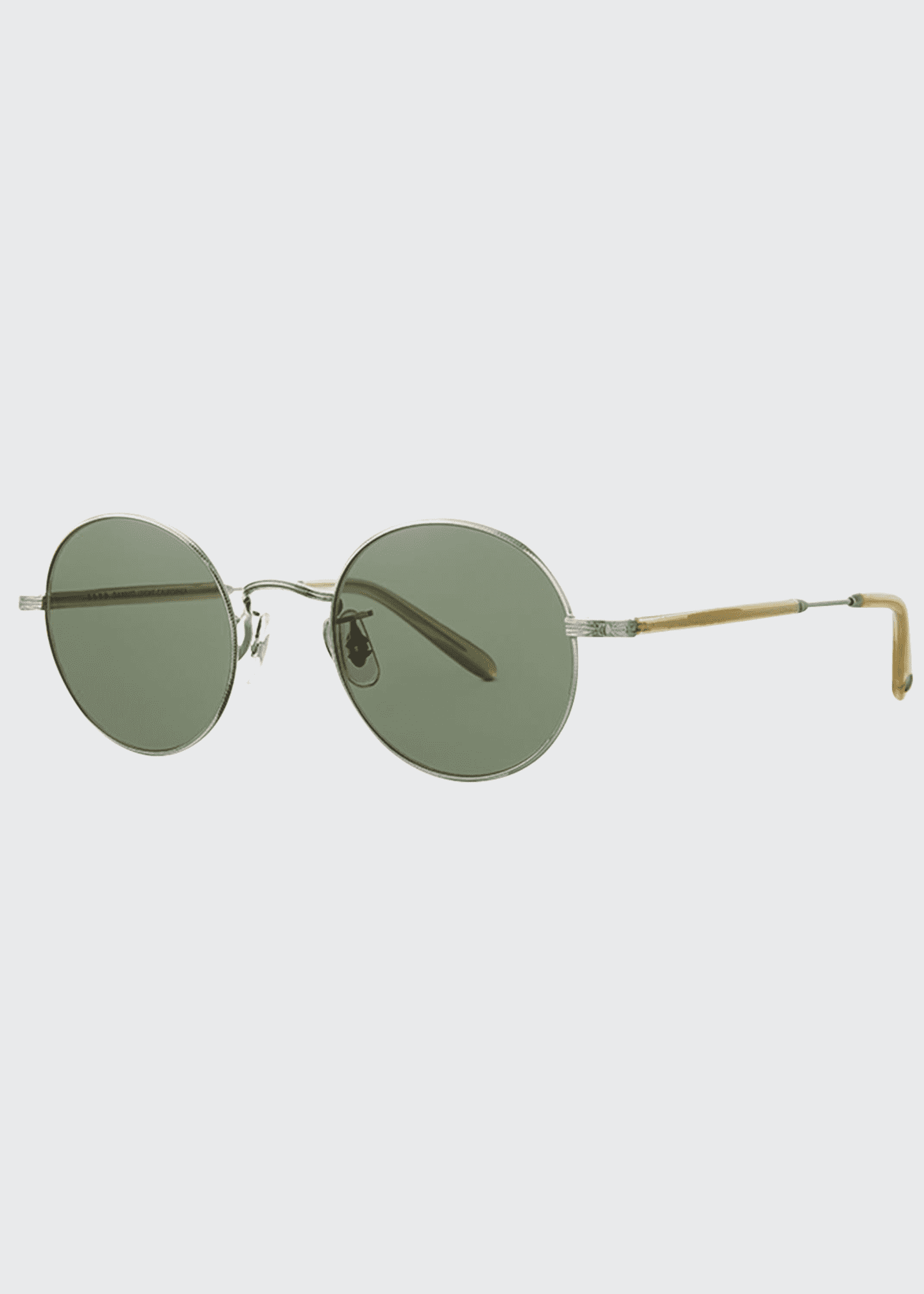 Image 1 of 2: Men's Lovers 46 Round Sunglasses