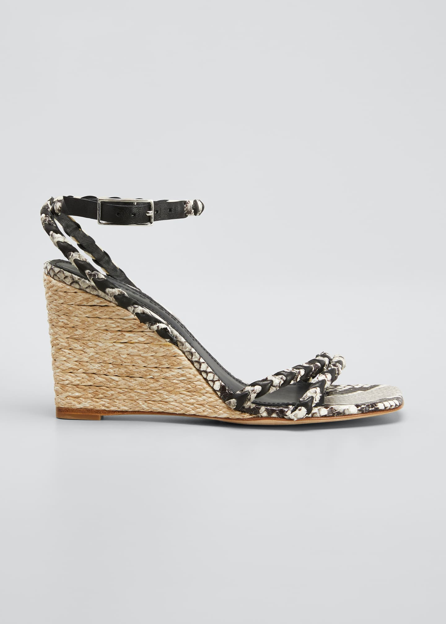 Image 1 of 5: Justice Wedge Sandals