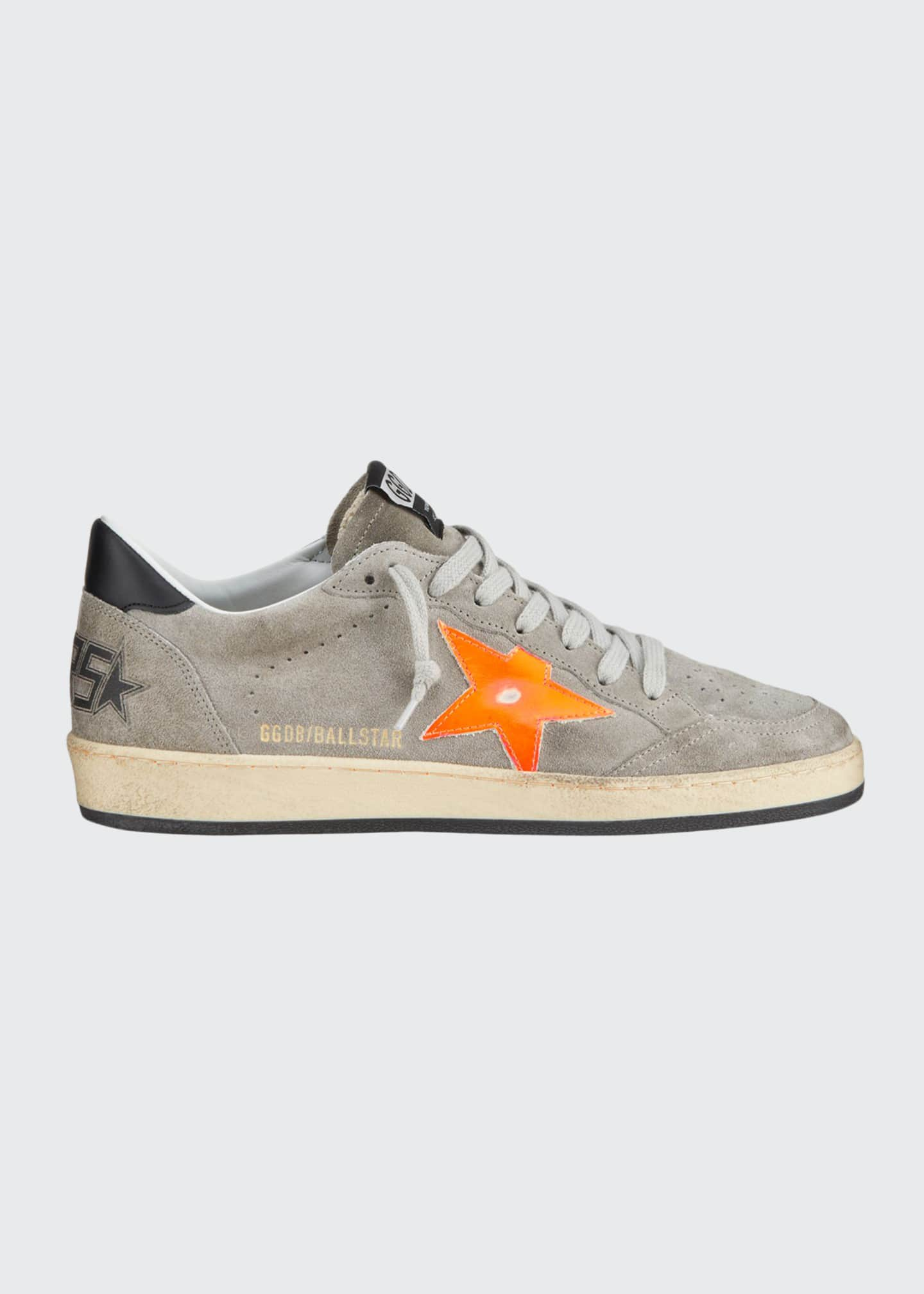 Image 1 of 4: Men's Ball Star Vintage Suede Sneakers