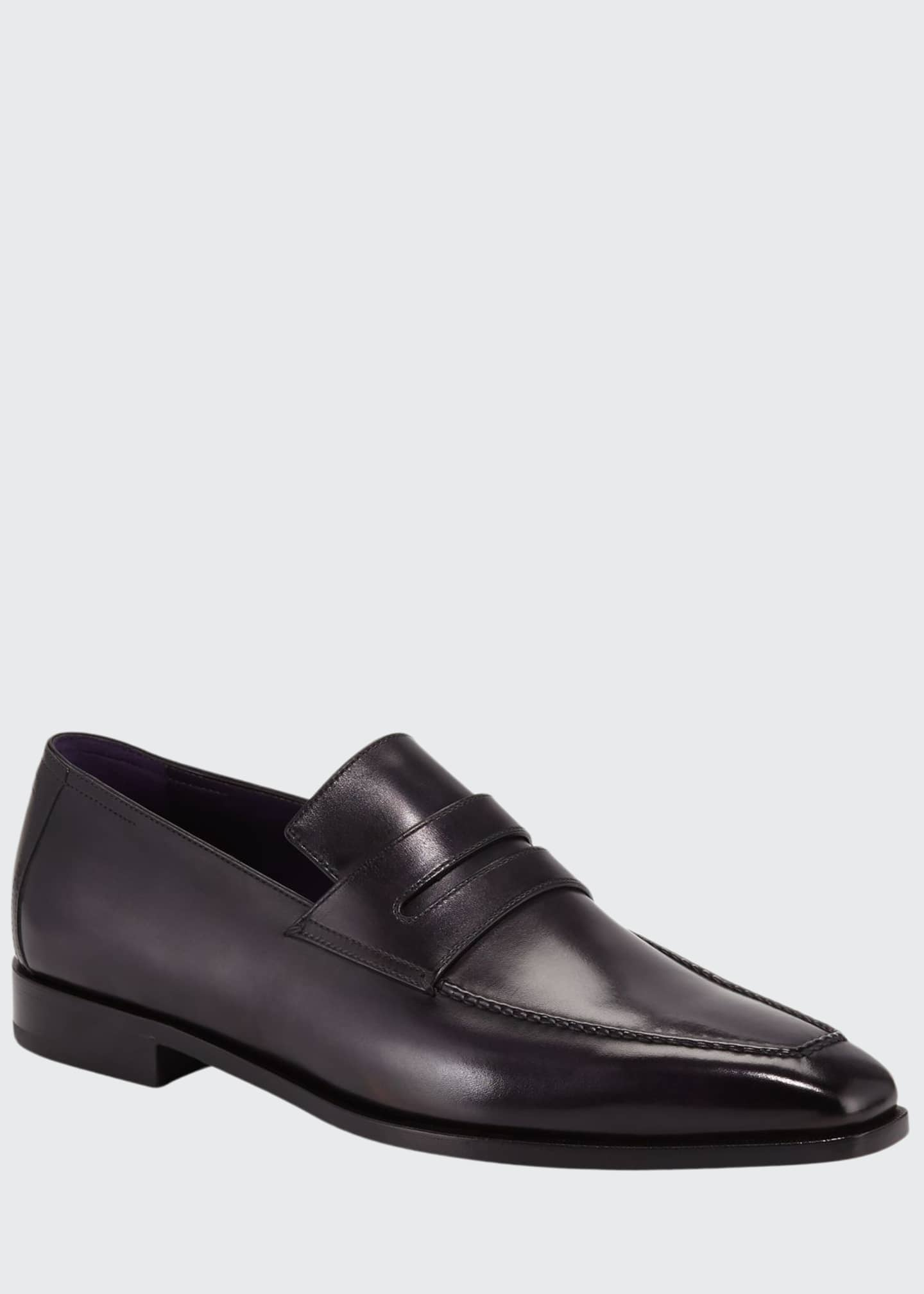 Image 1 of 3: Men's Andy Demesure Calf Leather Loafer