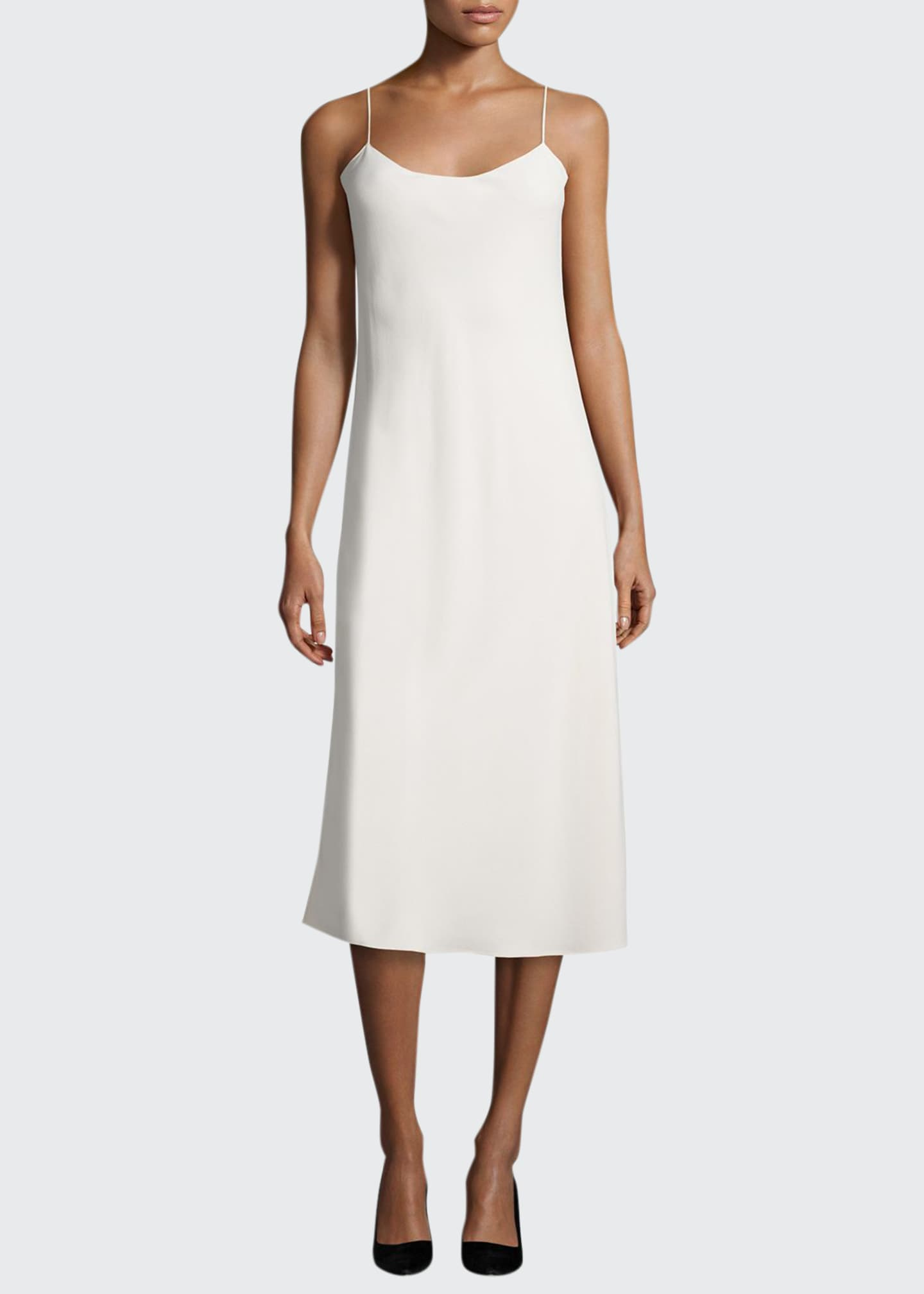 Image 1 of 2: Gibbons Sleeveless Bias-Cut Dress