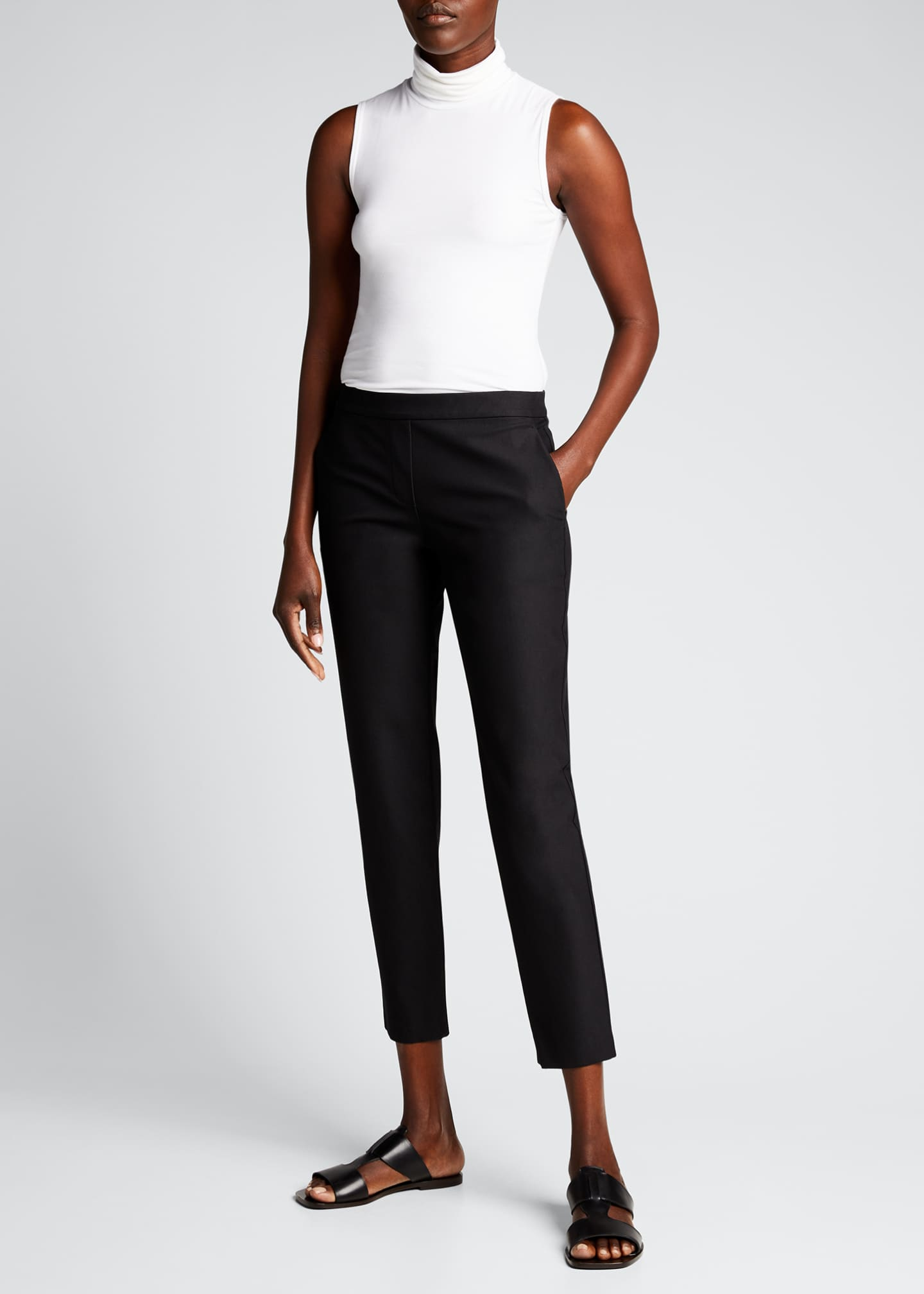 Image 1 of 4: Thaniel Approach Cropped Slim Pants, Black