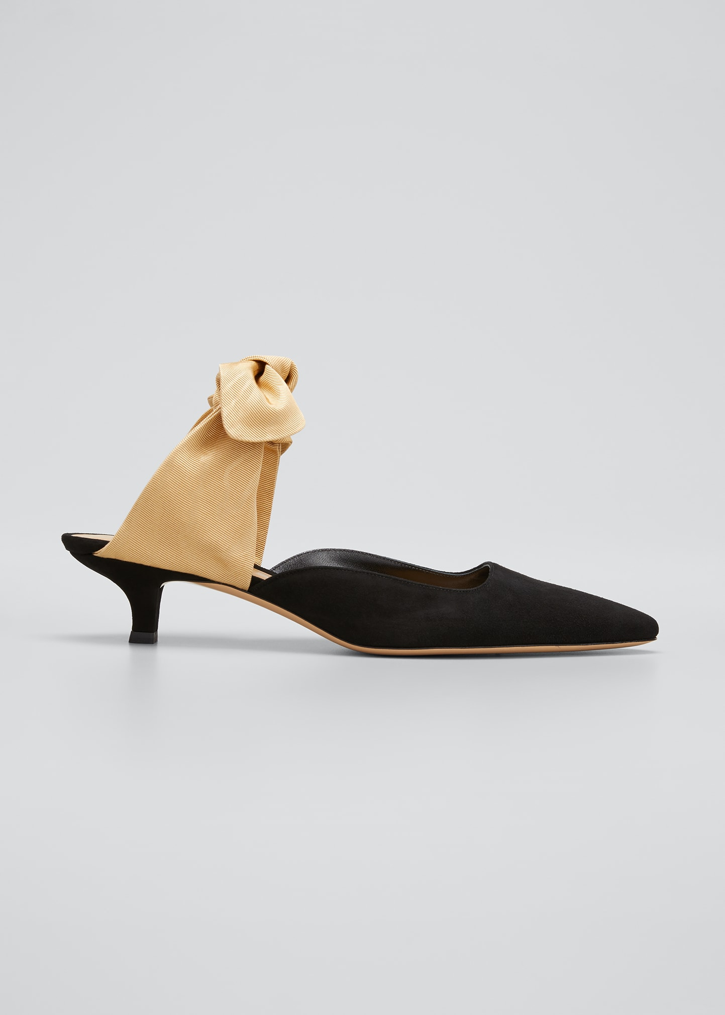 The Row Sandals COCO SUEDE MULE PUMP