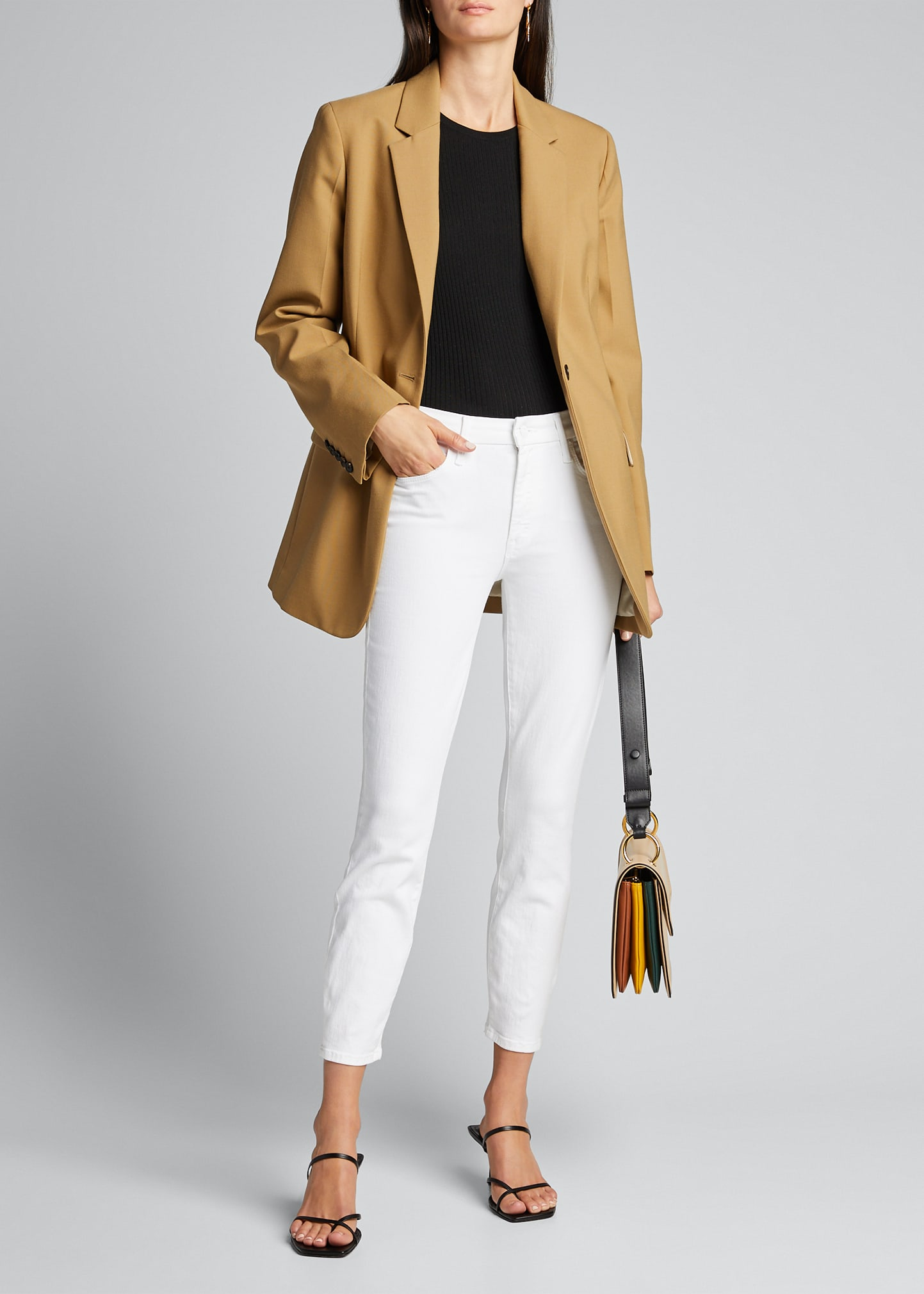 Mother Skinny jeans THE LOOKER CROP JEANS