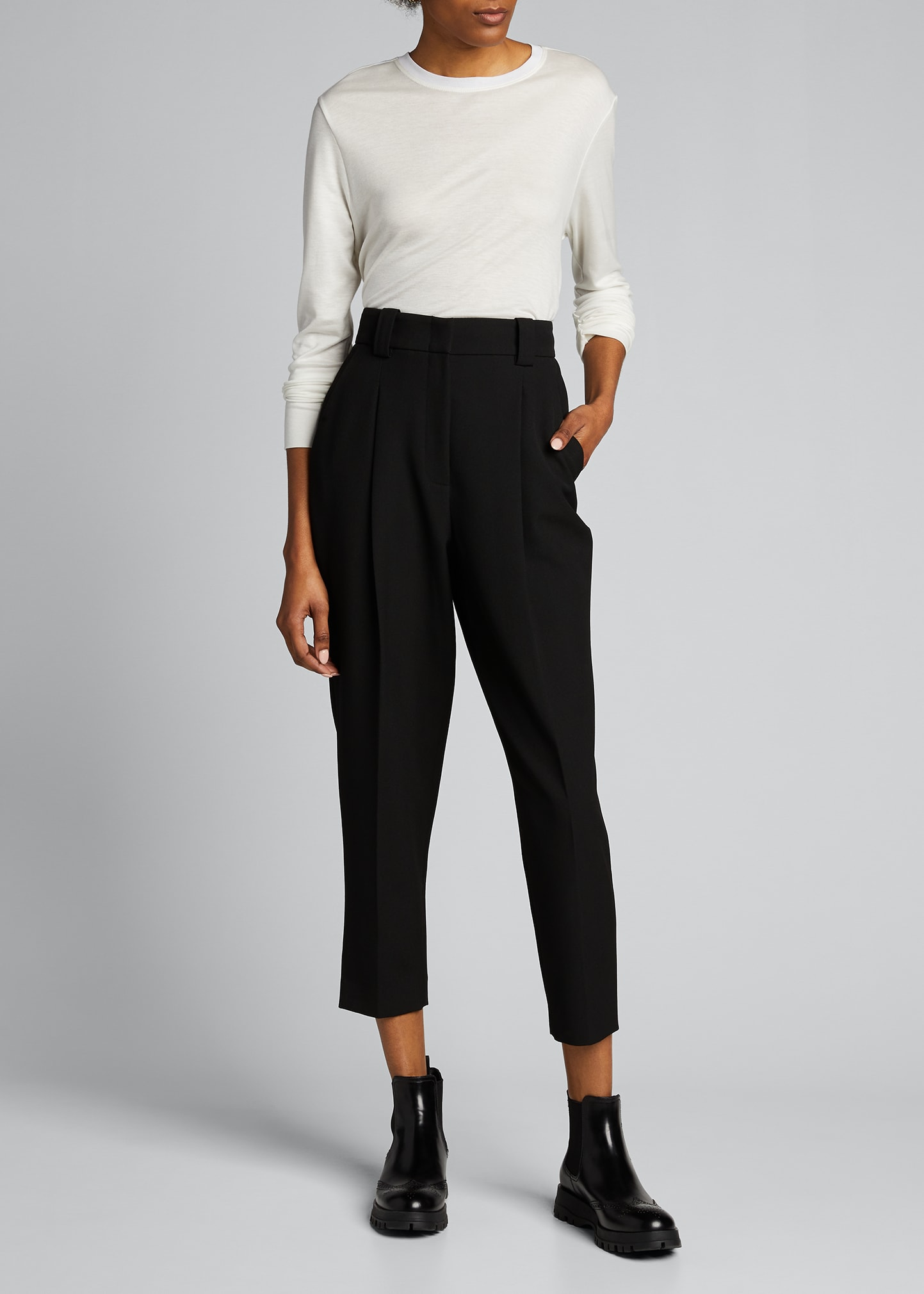 Helmut Lang Tops SYNC JERSEY LONG-SLEEVE TOP