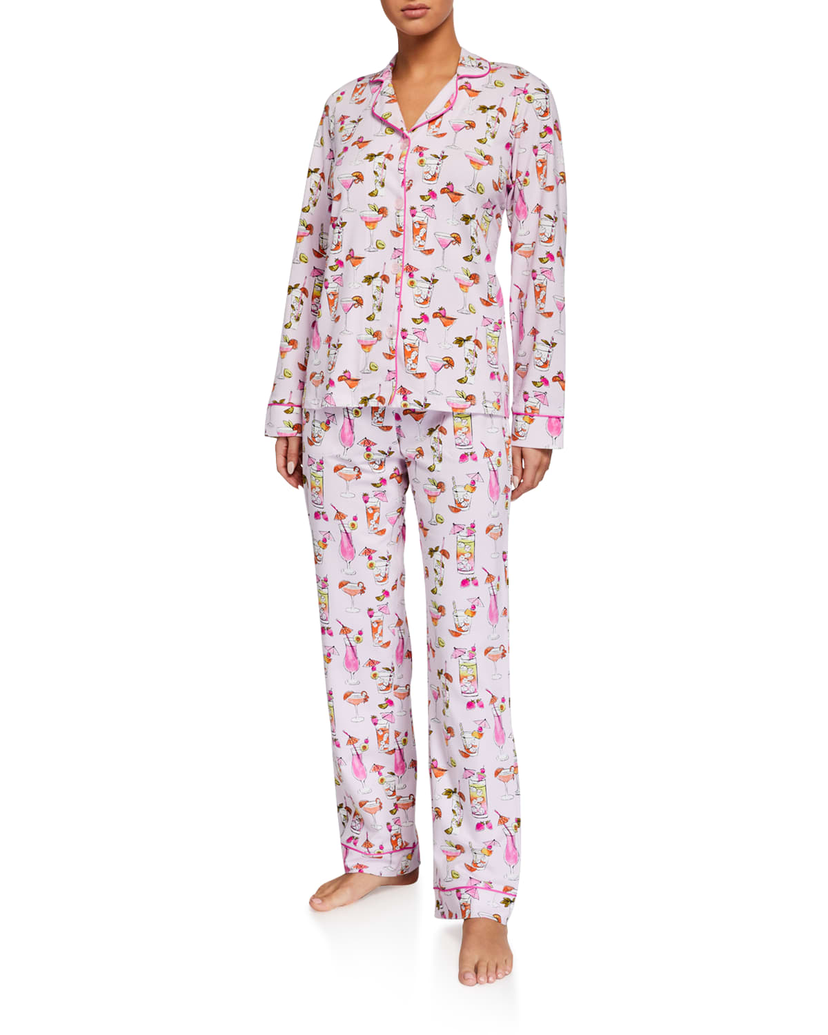 Bedhead Pajamas Cottons UMBRELLA DRINKS CLASSIC PAJAMA SET