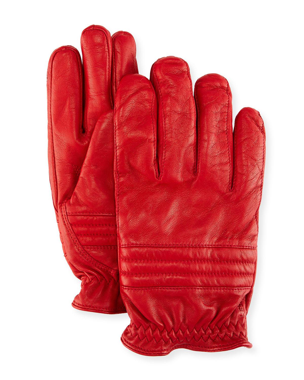 Hestra Gloves OSCAR LEATHER ELASTIC-CUFF GLOVES