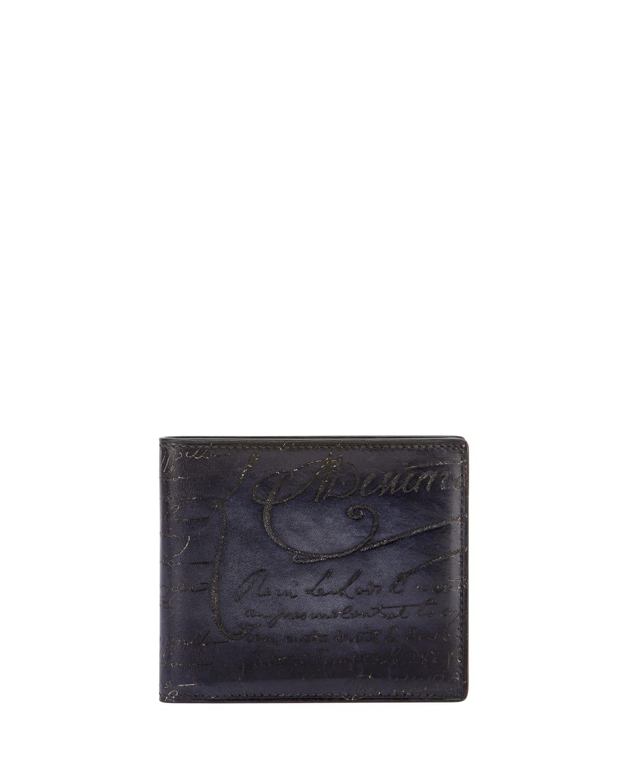 Scritto Leather Bi-Fold Wallet