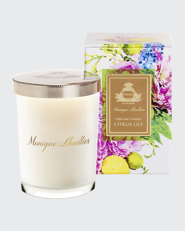Monique Lhuillier Citrus Lily Crystal Candle