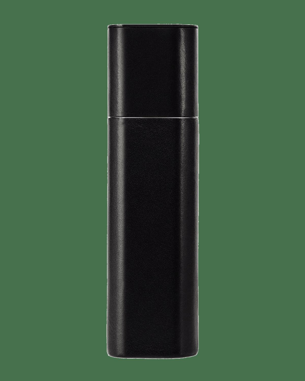 Black Leather Travel Case